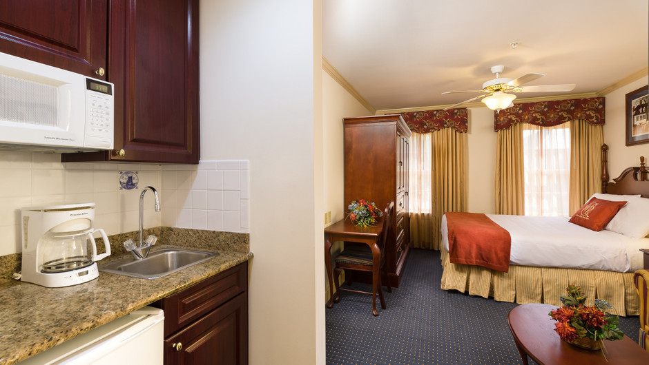 Studio at our Williamsburg resort | Westgate Historic Williamsburg Resort | Westgate Resorts