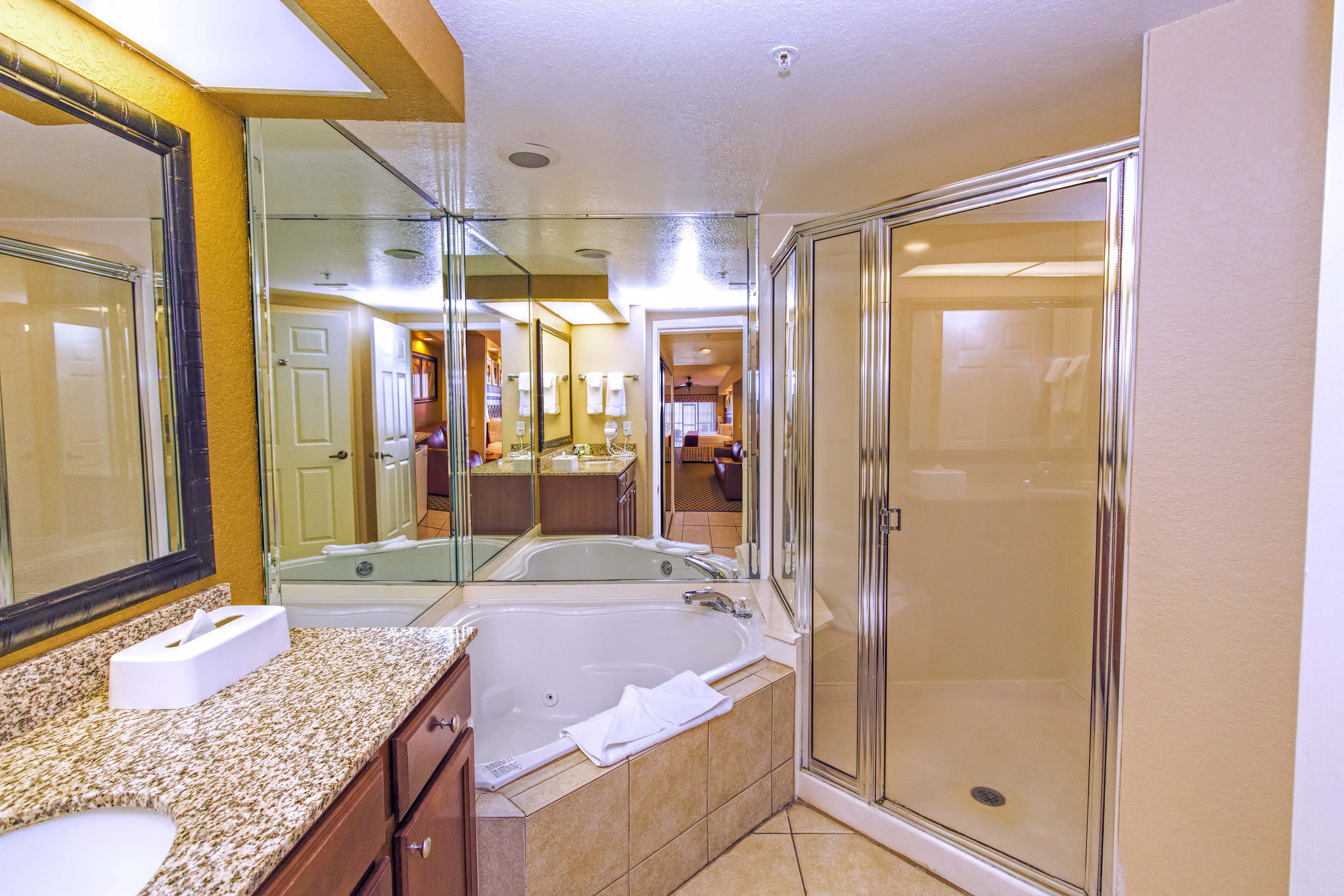 Bathroom, Studio Villa in Orlando, FL | Westgate Lakes Resort & Spa | Westgate Resorts