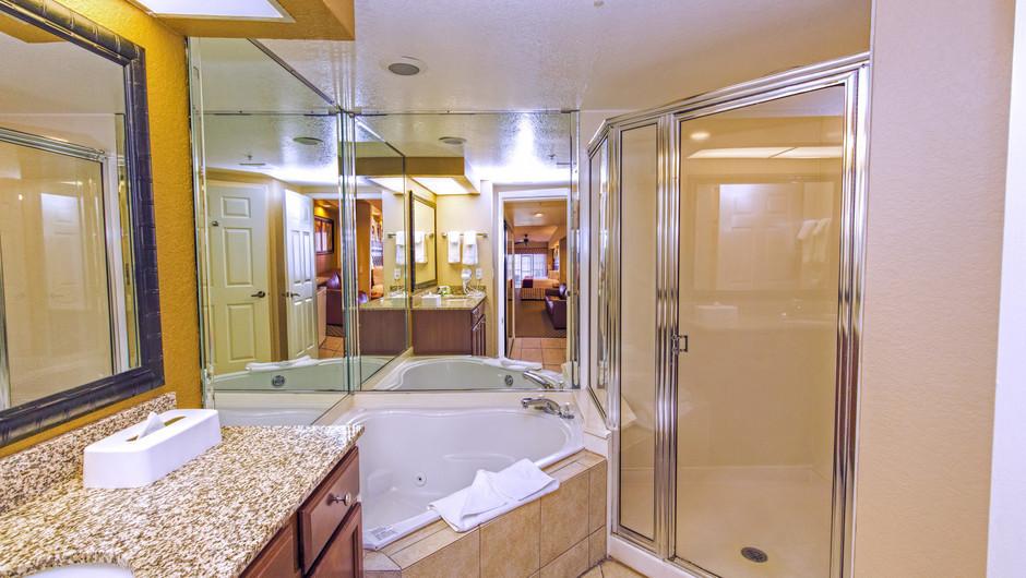 Bathroom, Studio Villa in Orlando, FL | Westgate Lakes Resort & Spa | Westgate Resorts