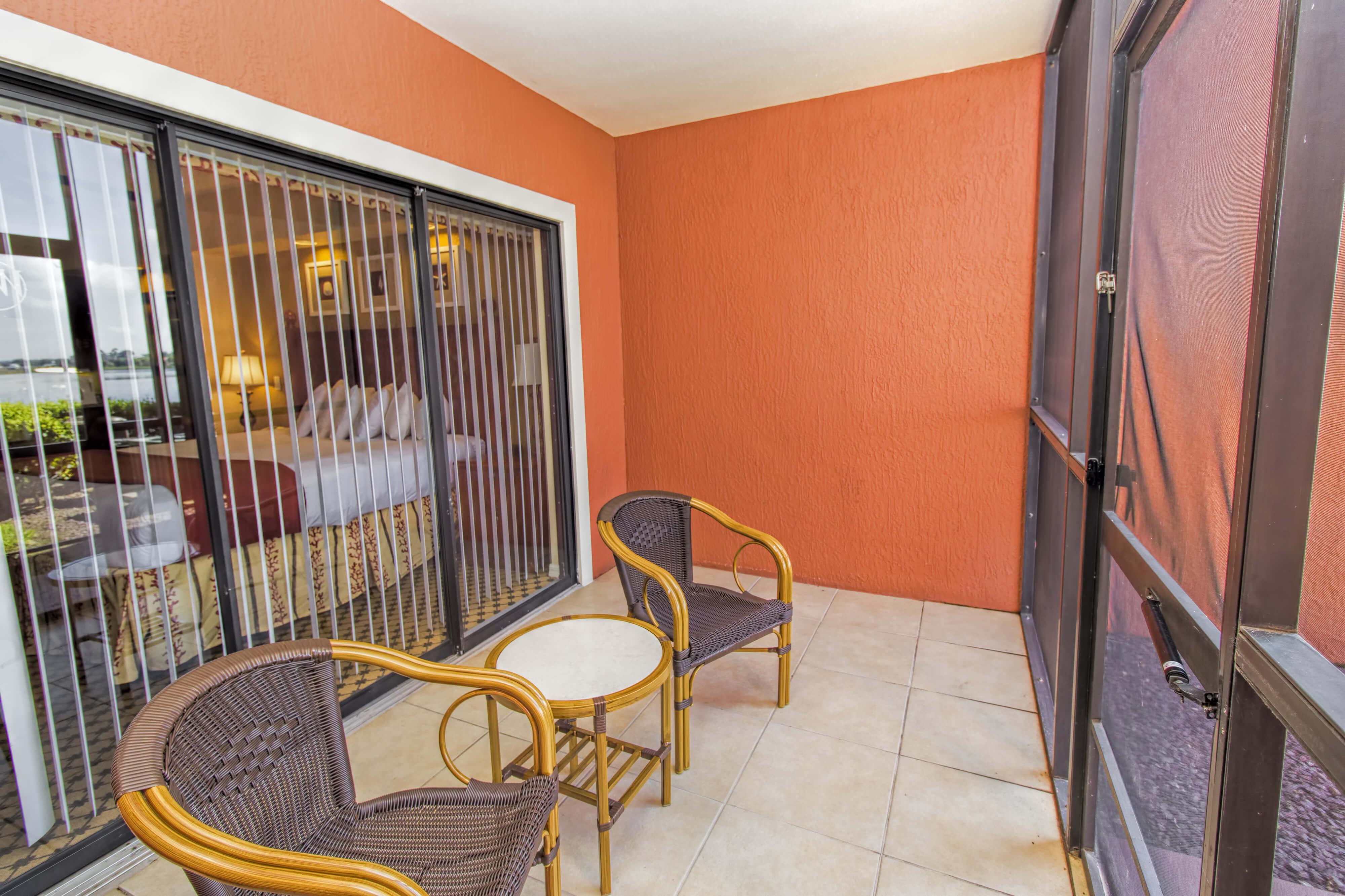 Patio, Studio Villa in Orlando, FL   Westgate Lakes Resort & Spa   Westgate Resorts