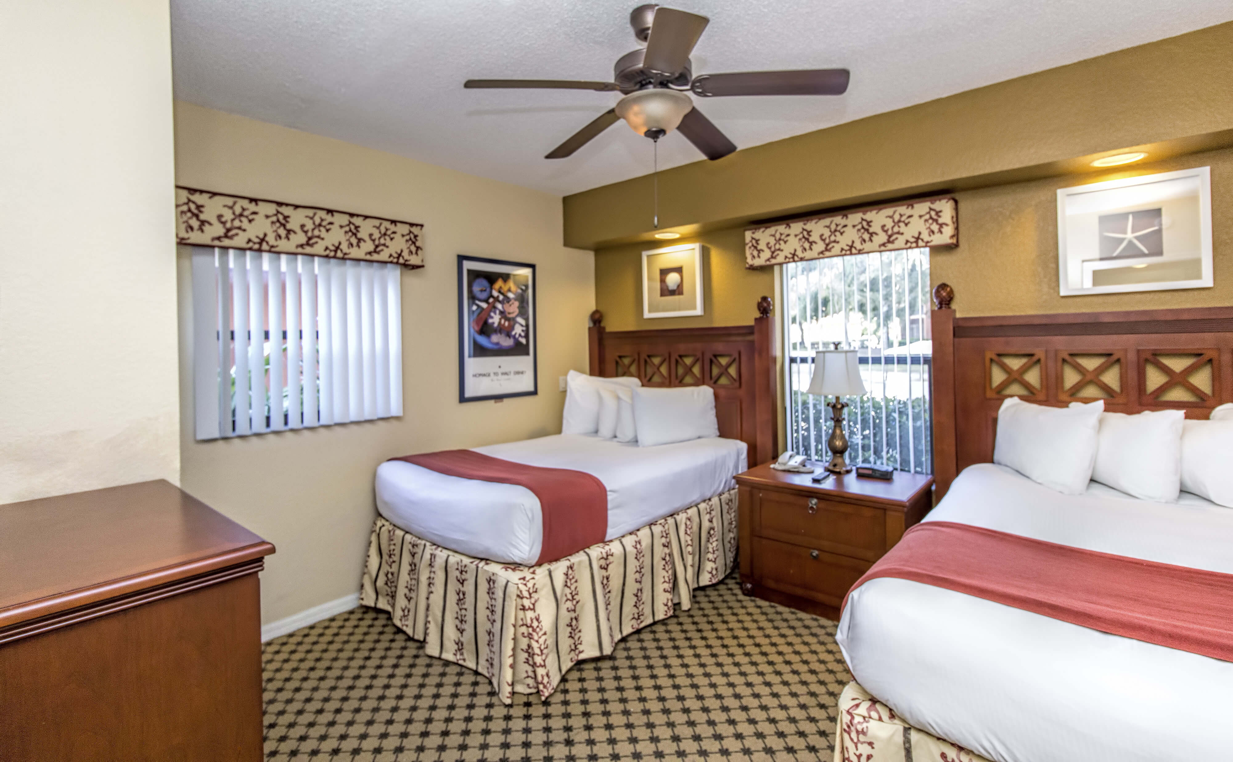 Two-Person Bedroom | Westgate Lakes Resort & Spa | Orlando, FL | Westgate Resorts