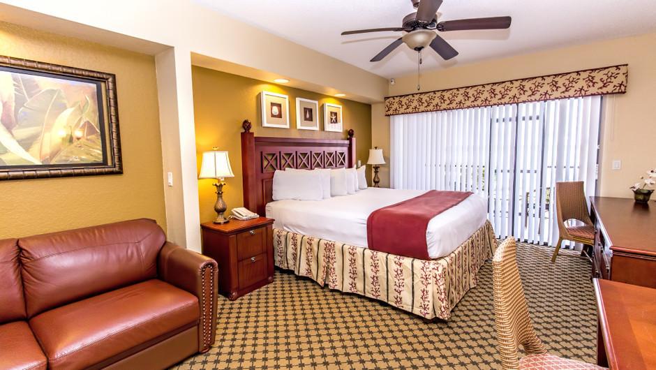 Living Area at Three-Bedroom Villa in Orlando, FL   Westgate Lakes Resort & Spa   Westgate Resorts