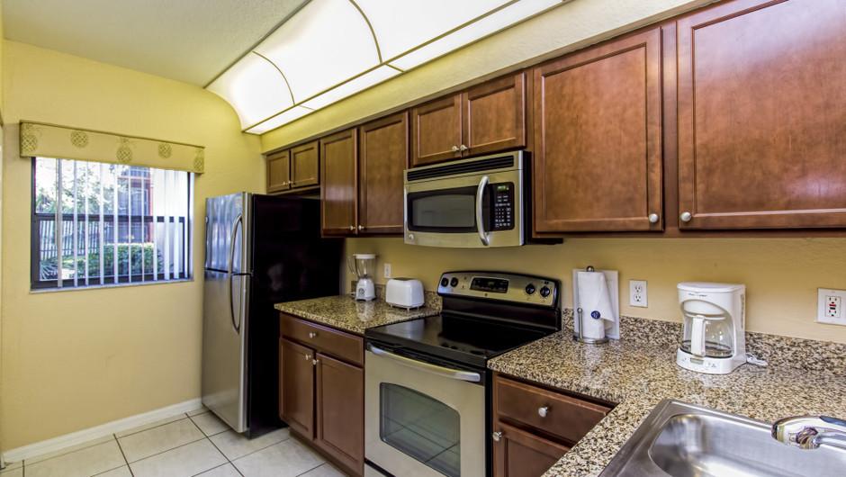 Kitchen at Three-Bedroom Villa in Orlando, FL   Westgate Lakes Resort & Spa   Westgate Resorts