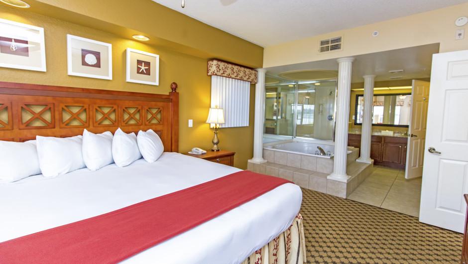 Bed in Four-Bedroom Villa in Orlando, FL | Westgate Lakes Resort & Spa | Westgate Resorts