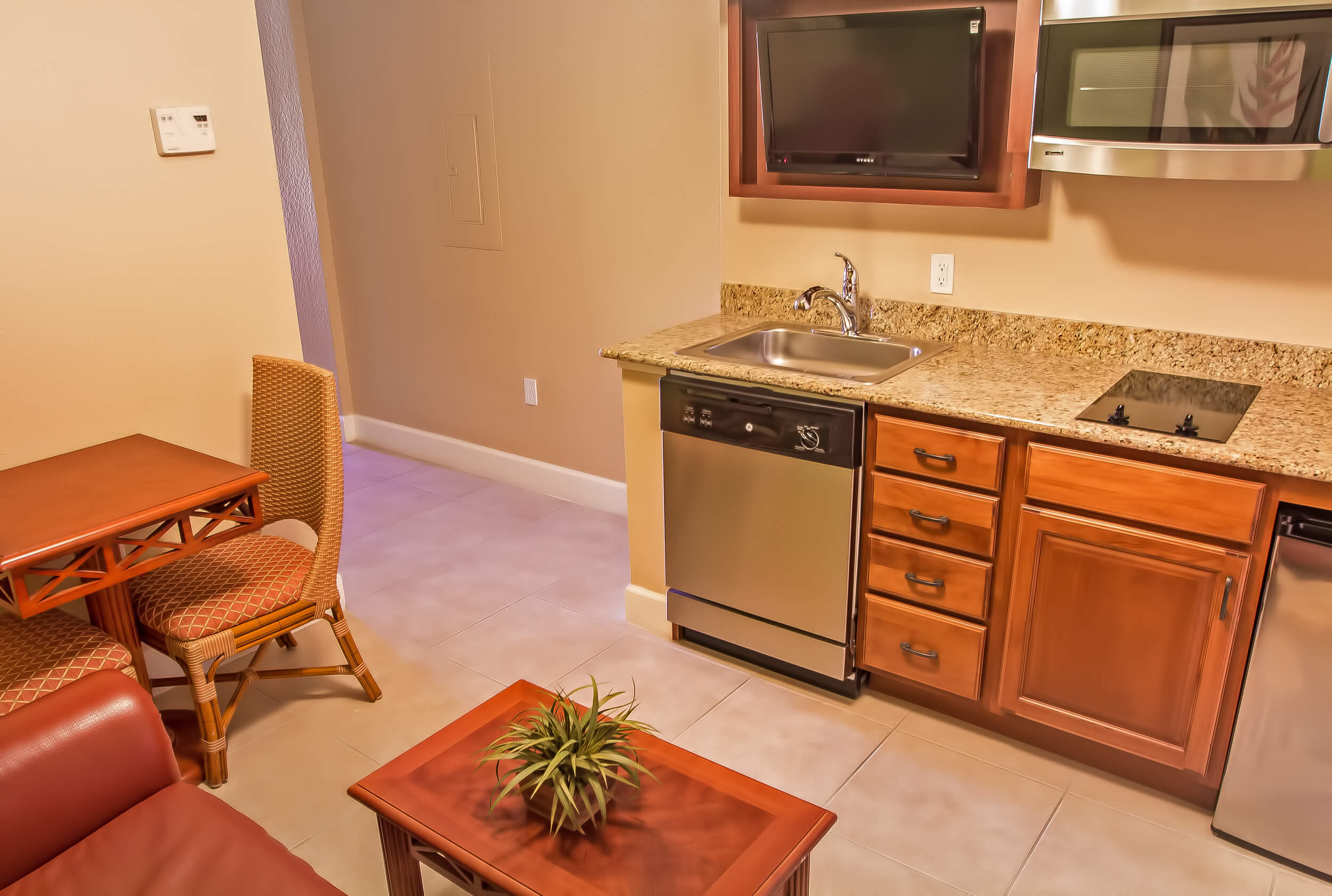 Studio Villa | Kitchen Area | Westgate Lakes Resort & Spa | Orlando, FL | Westgate Resorts