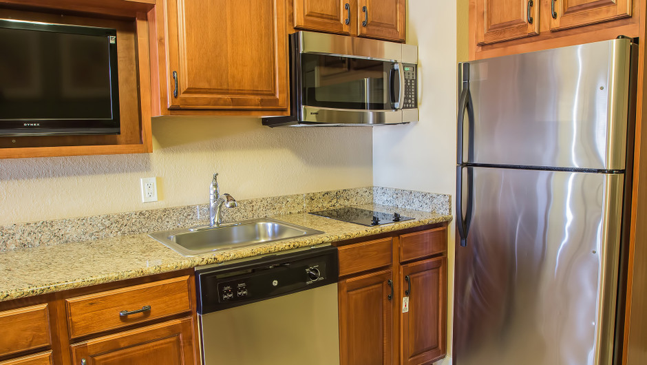 Studio Villa   Kitchen   Westgate Lakes Resort & Spa   Orlando, FL   Westgate Resorts