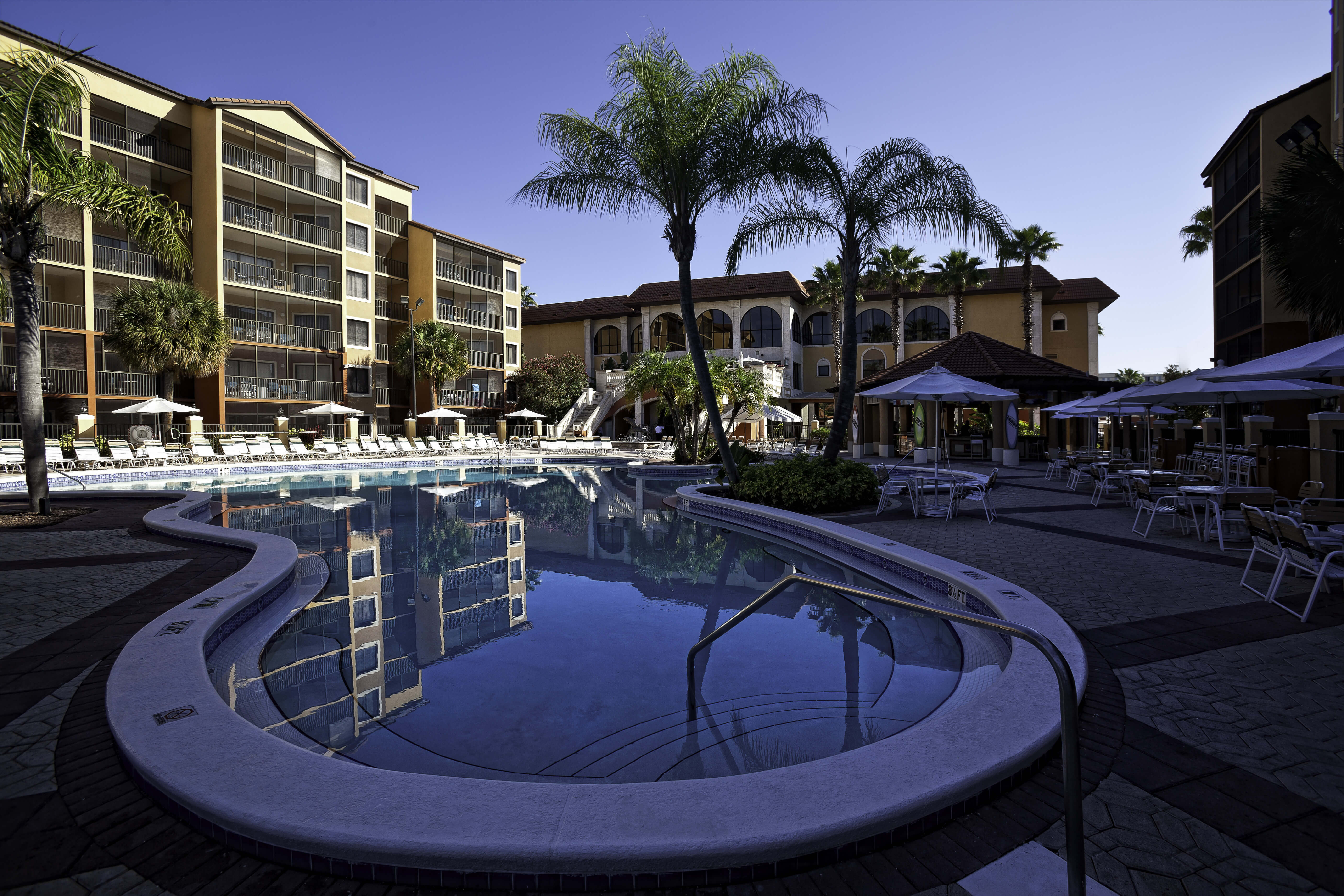 Outdoor Pool in Late Afternoon | Westgate Lakes Resort & Spa | Orlando, FL | Westgate Resorts