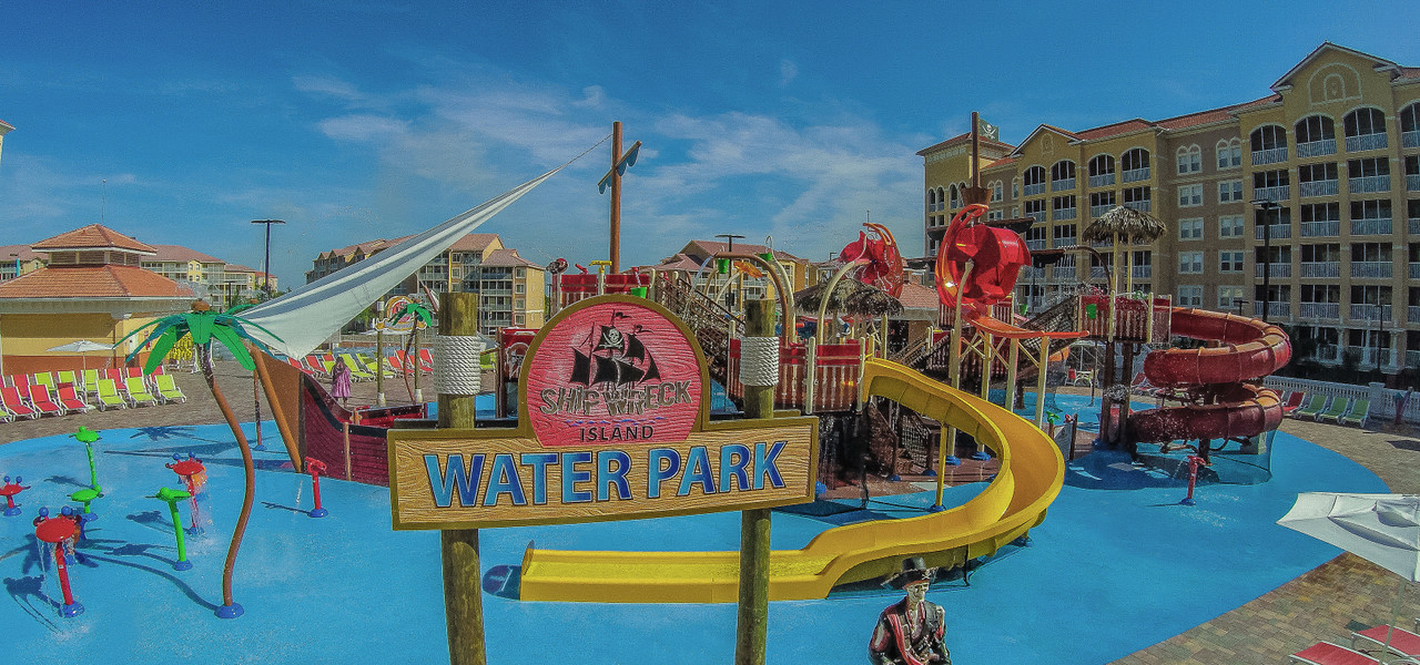 Ship Wreck Island Water Parks at our Orlando Water Park Hotel | Westgate Towers Resort | Westgate Water Park Hotels