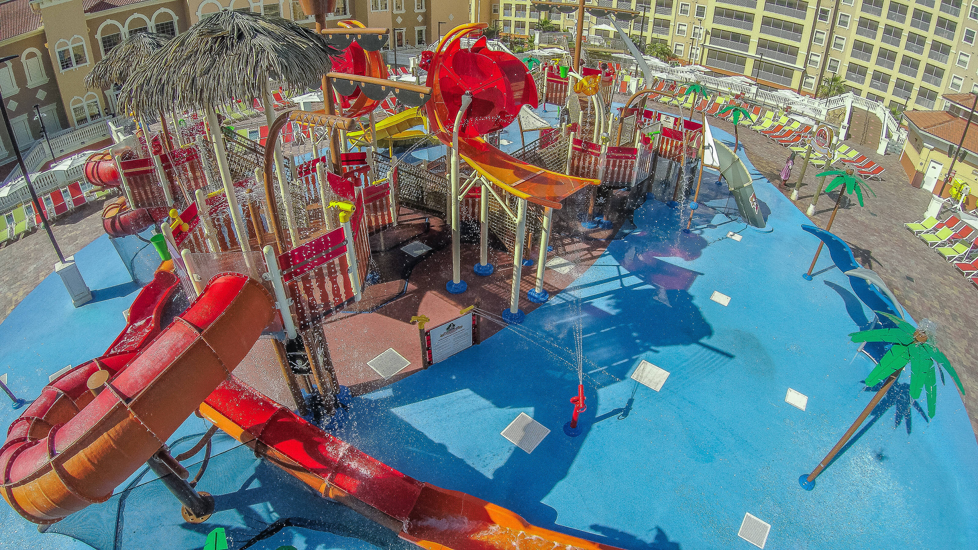 Overhead View of Shipwreck Island Water Park | Westgate Vacation Villas Resort & Spa | Orlando, FL | Westgate Resorts