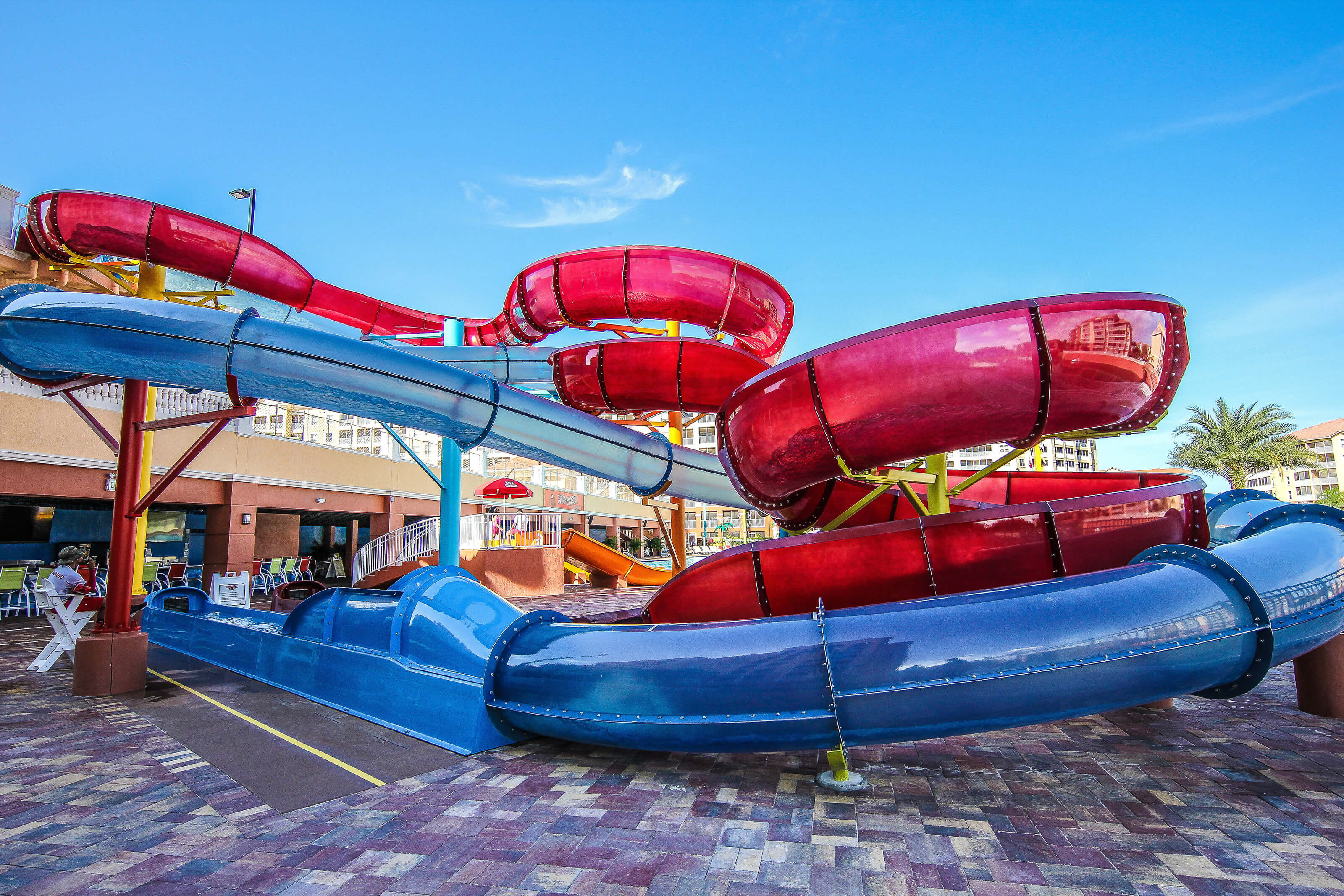 Tube Slides at Shipwreck Island Water Park | Westgate Vacation Villas Resort & Spa | Orlando, FL | Westgate Resorts