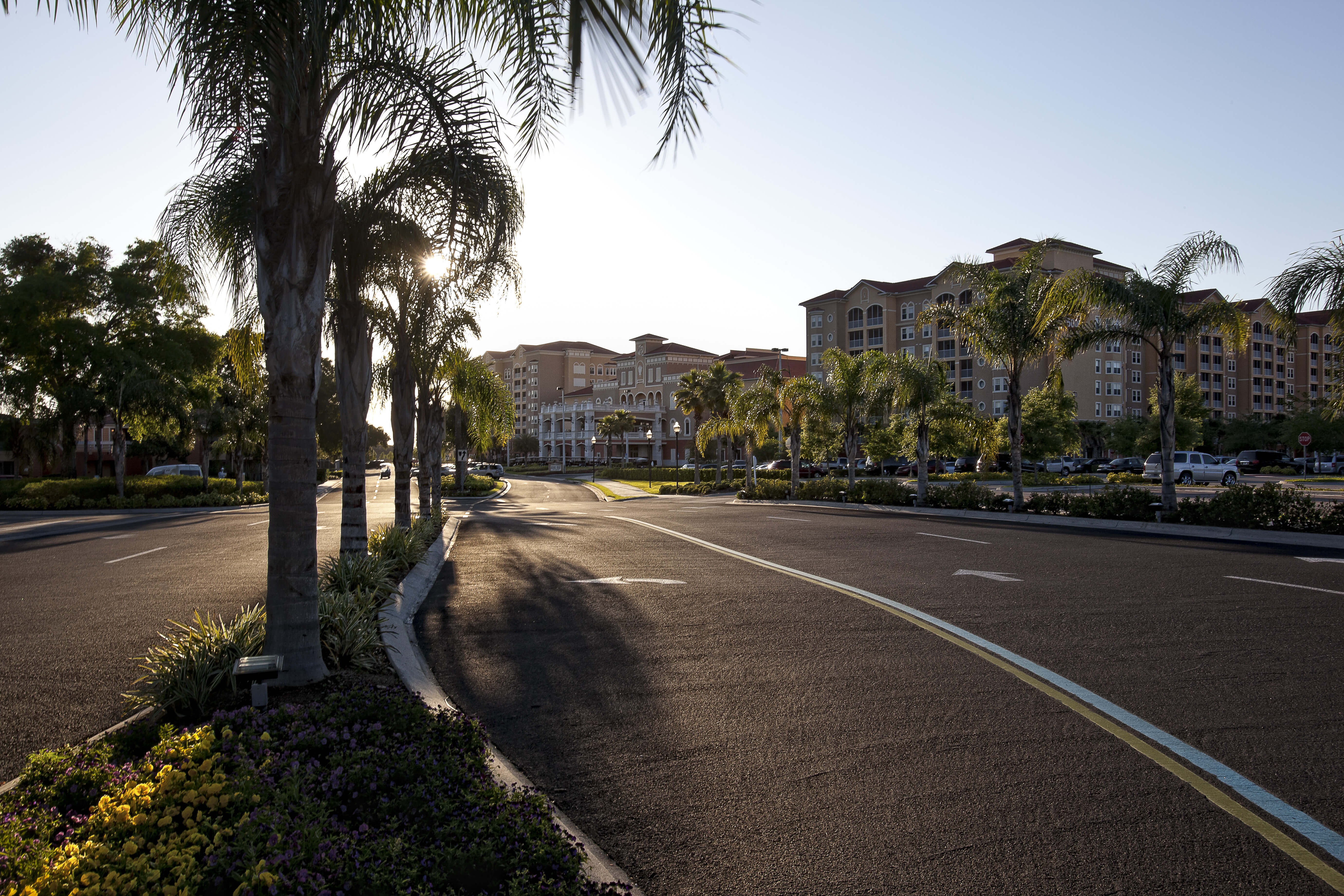 Main Entrance into Resort | Westgate Town Center Resort & Spa | Westgate Resorts