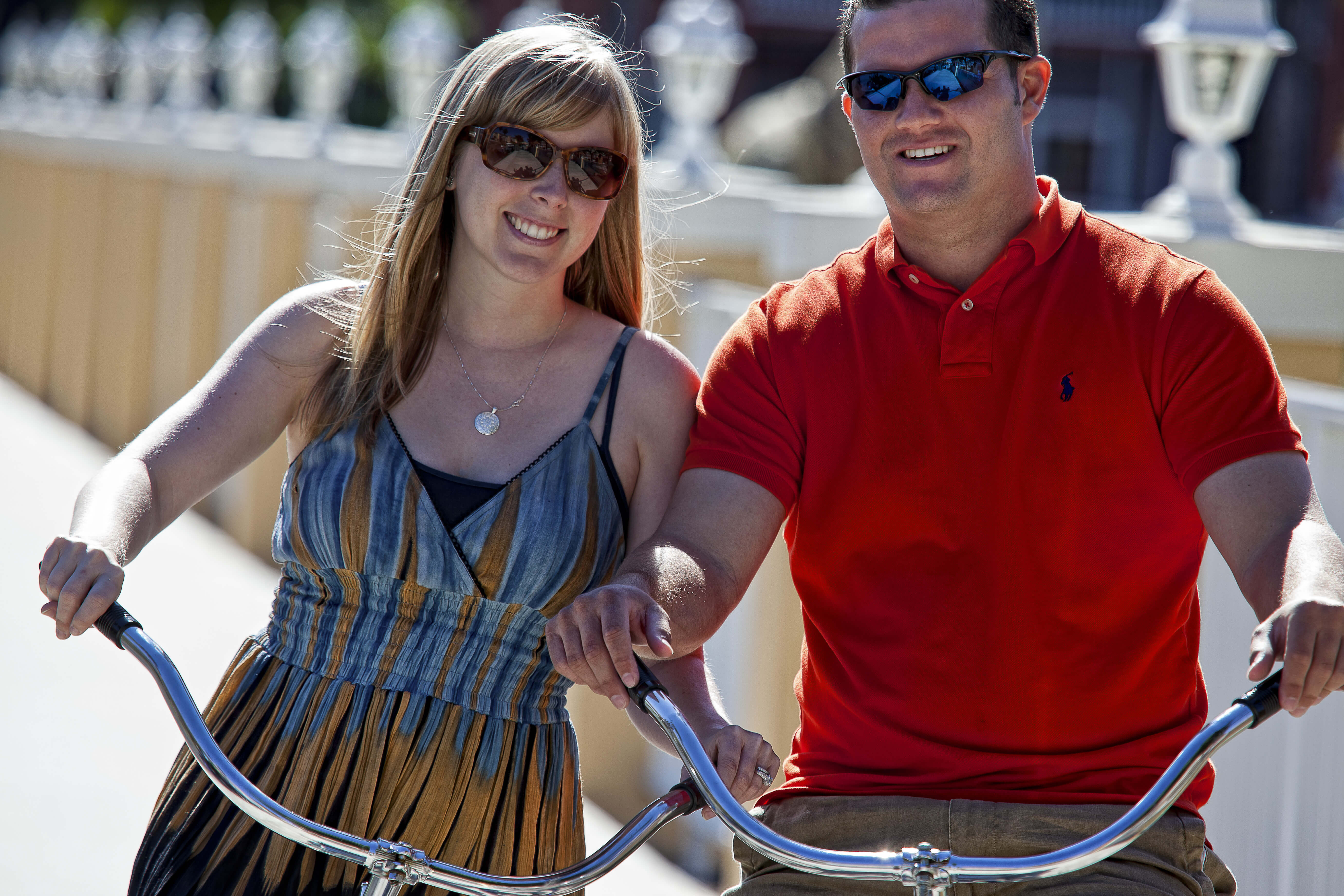 Couple Biking | Westgate Town Center Resort & Spa | Westgate Resorts