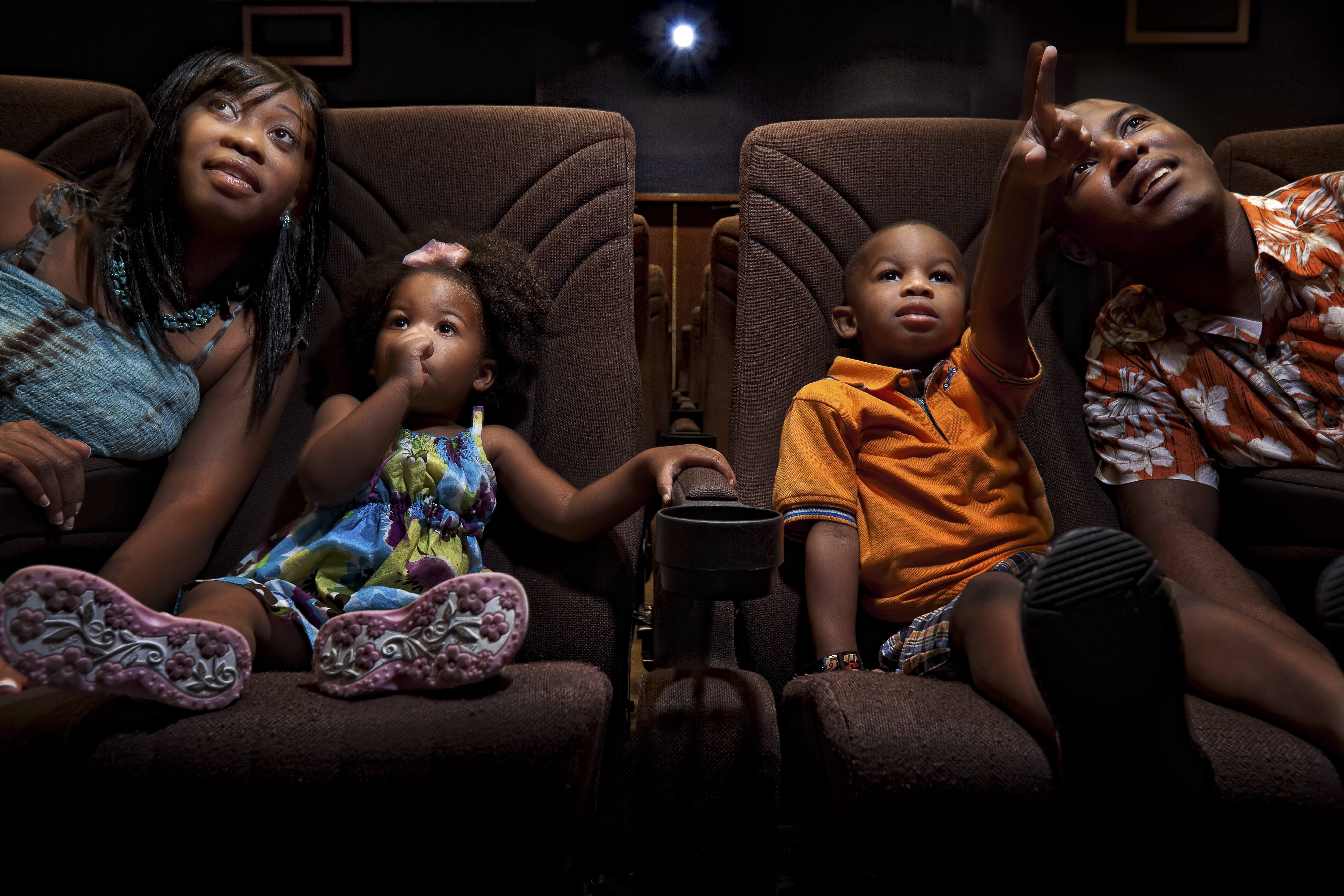 Family at Movies | Westgate Vacation Villas Resort & Spa | Orlando, FL | Westgate Resorts