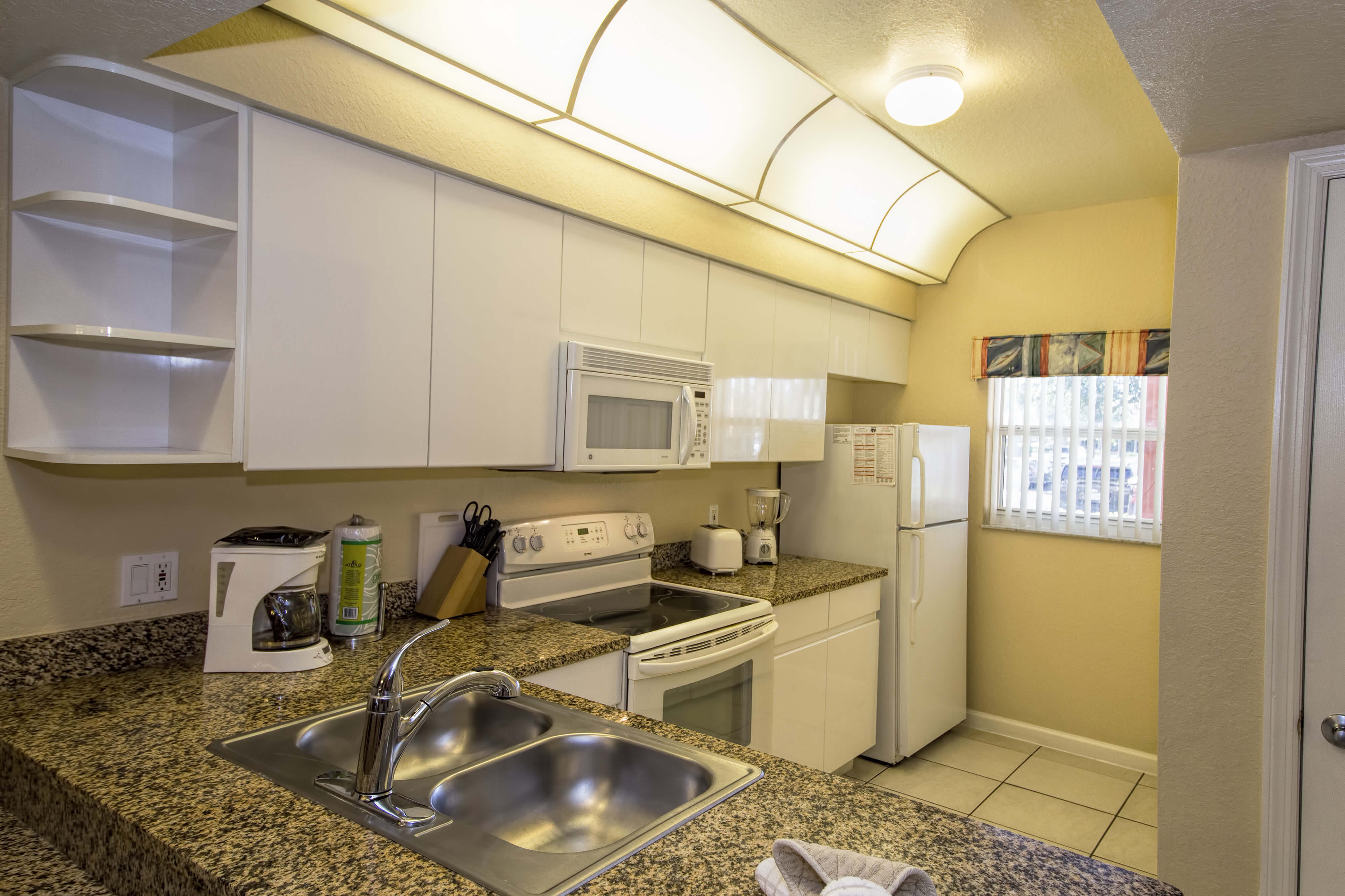 Kitchen | Two-Bedroom Deluxe Villa | Westgate Town Center Resort & Spa | Westgate Resorts
