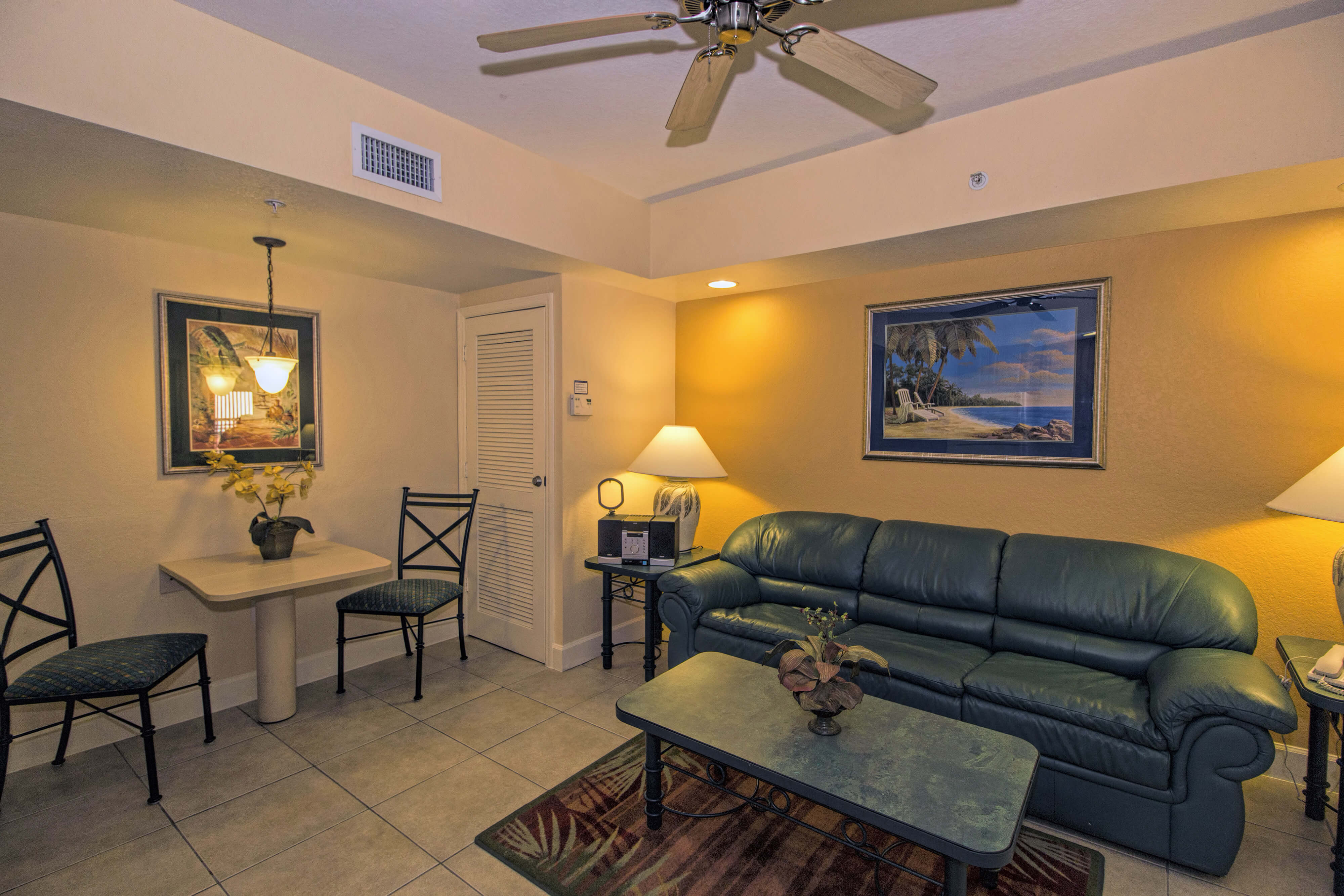Living Area | Two-Bedroom Villa | Westgate Town Center Resort & Spa | Westgate Resorts