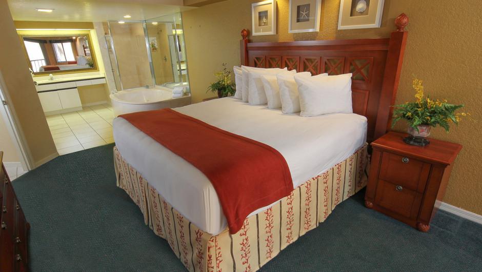 Two-Bedroom Deluxe Villa Bedroom with King Bed   Westgate Vacation Villas Resort & Spa   Orlando, FL   Westgate Resorts