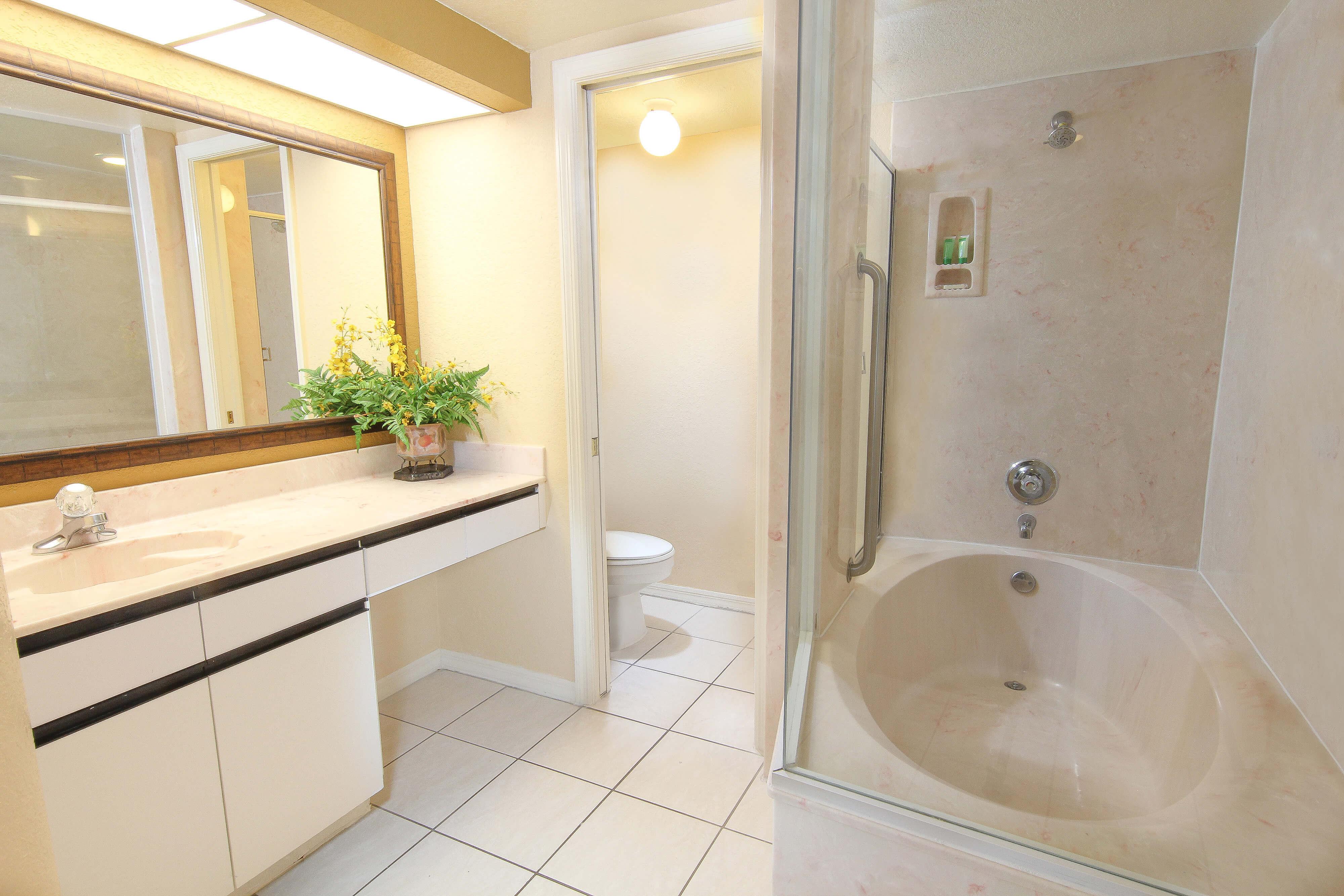 Two-Bedroom Deluxe Villa Bathroom | Westgate Vacation Villas Resort & Spa | Orlando, FL | Westgate Resorts