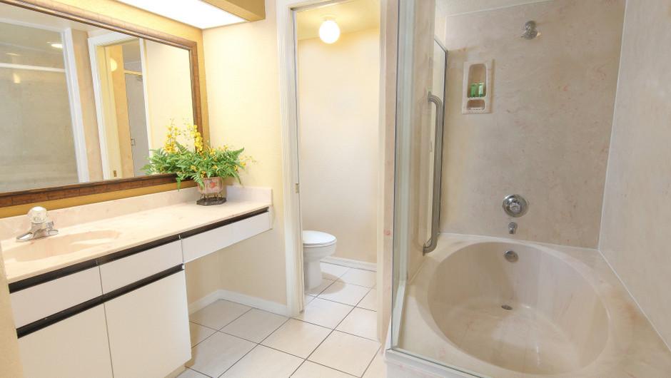 Two-Bedroom Deluxe Villa Bathroom   Westgate Vacation Villas Resort & Spa   Orlando, FL   Westgate Resorts