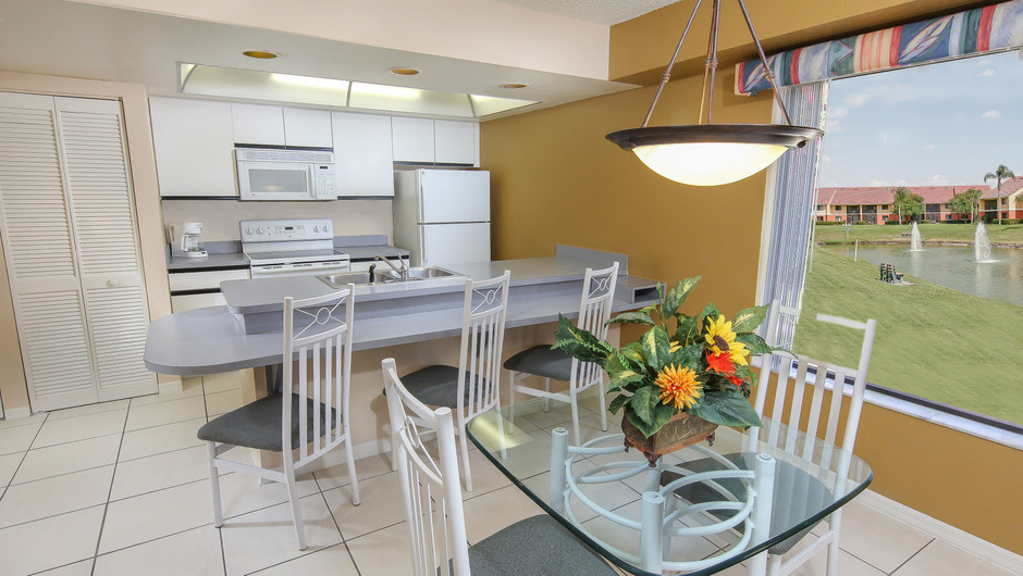 Kitchen Area of 2 bedroom suite in Orlando, FL   Westgate Vacation Villas Resort & Spa   Orlando, FL   Westgate Resorts