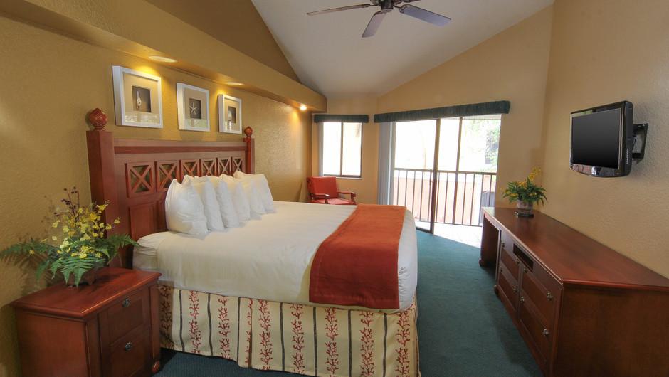Two-Bedroom Villa with Loft Bedroom with King Bed | Westgate Vacation Villas Resort & Spa | Orlando, FL | Westgate Resorts