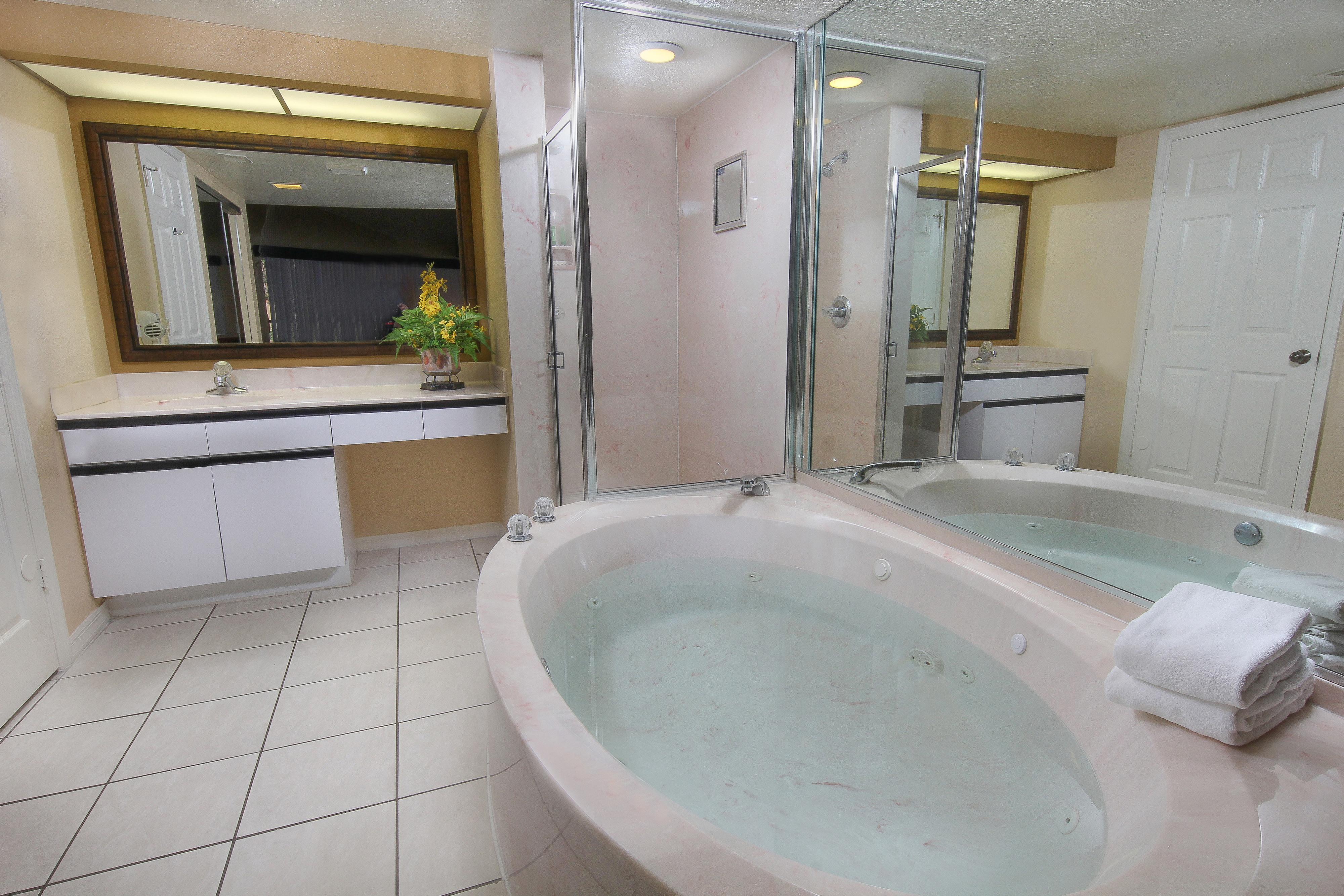 Two-Bedroom Villa with Loft Master Bathroom   Westgate Vacation Villas Resort & Spa   Orlando, FL   Westgate Resorts