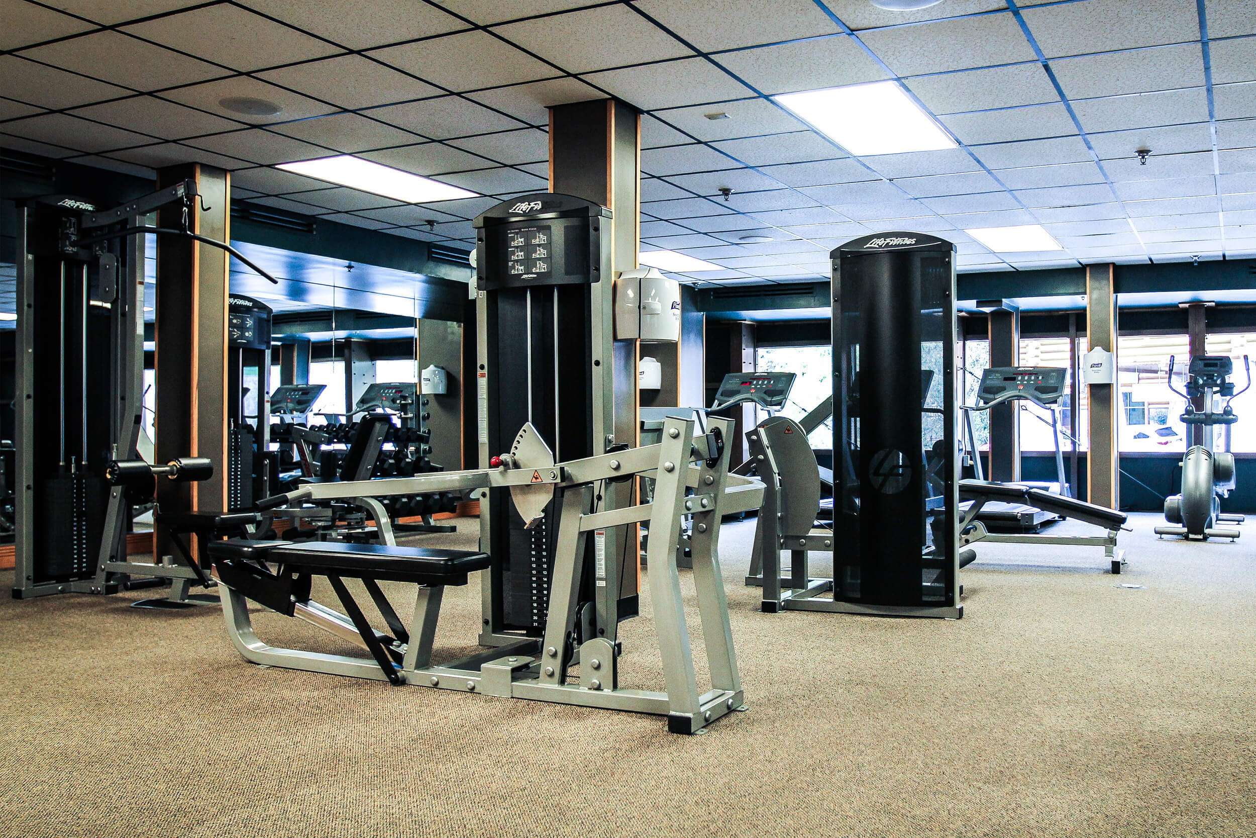 Fitness Center with state-of-the-art workout equipment | Westgate Smoky Mountain Resort & Spa