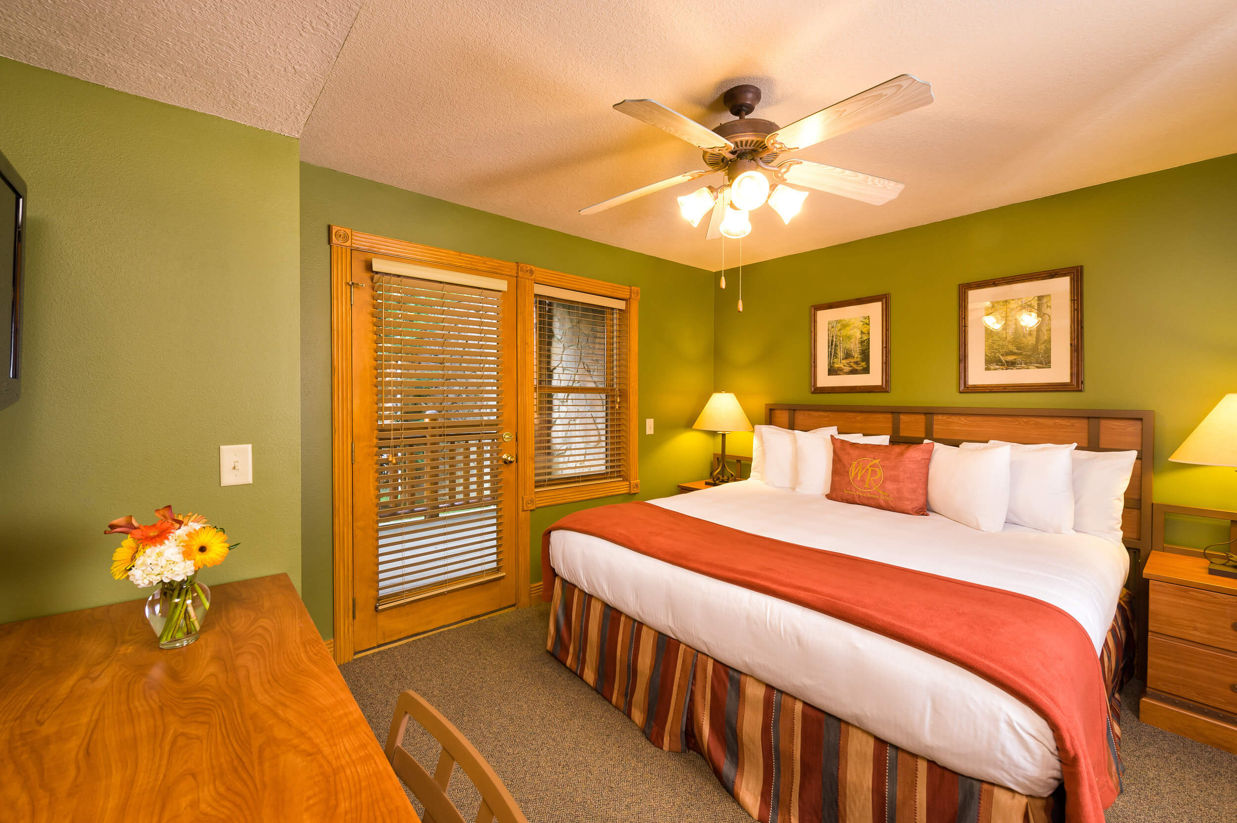 One Bedroom Deluxe King Bed Villa at our Gatlinburg Villas | Westgate Smoky Mountain Resort & Spa | Westgate Resorts