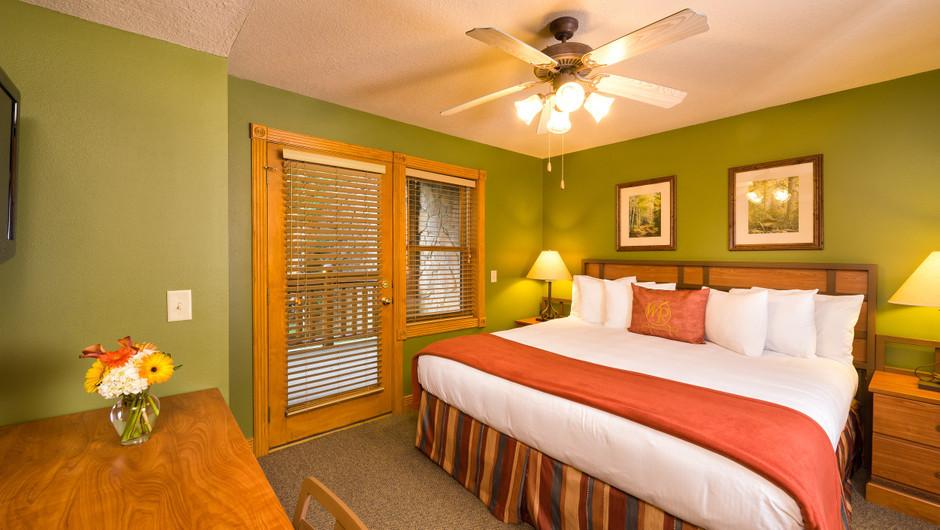 One Bedroom Deluxe King Bed Villa at our Gatlinburg Villas | Westgate Smoky Mountain Resort & Spa | Westgate Resorts