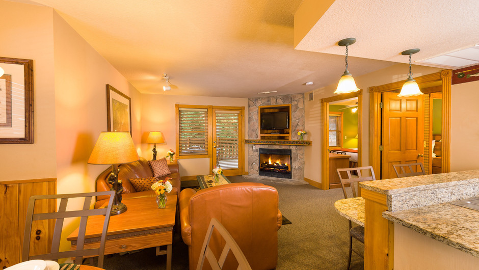 One Bedroom Deluxe King Bed Villa in our Gatlinburg Villas | Westgate Smoky Mountain Resort & Spa | Westgate Resorts