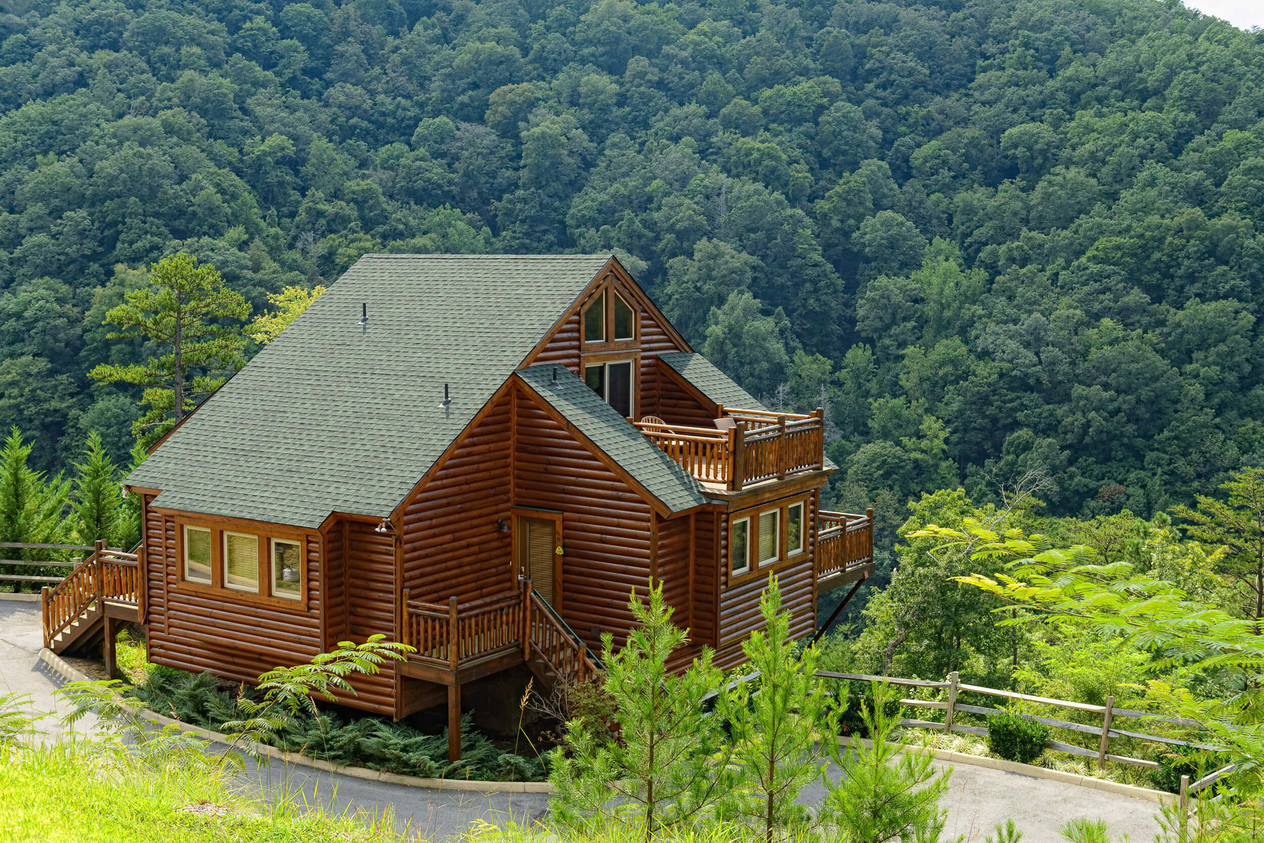 cabins tennessee park mountains national cabin smoky pin mountain landscapes homestead