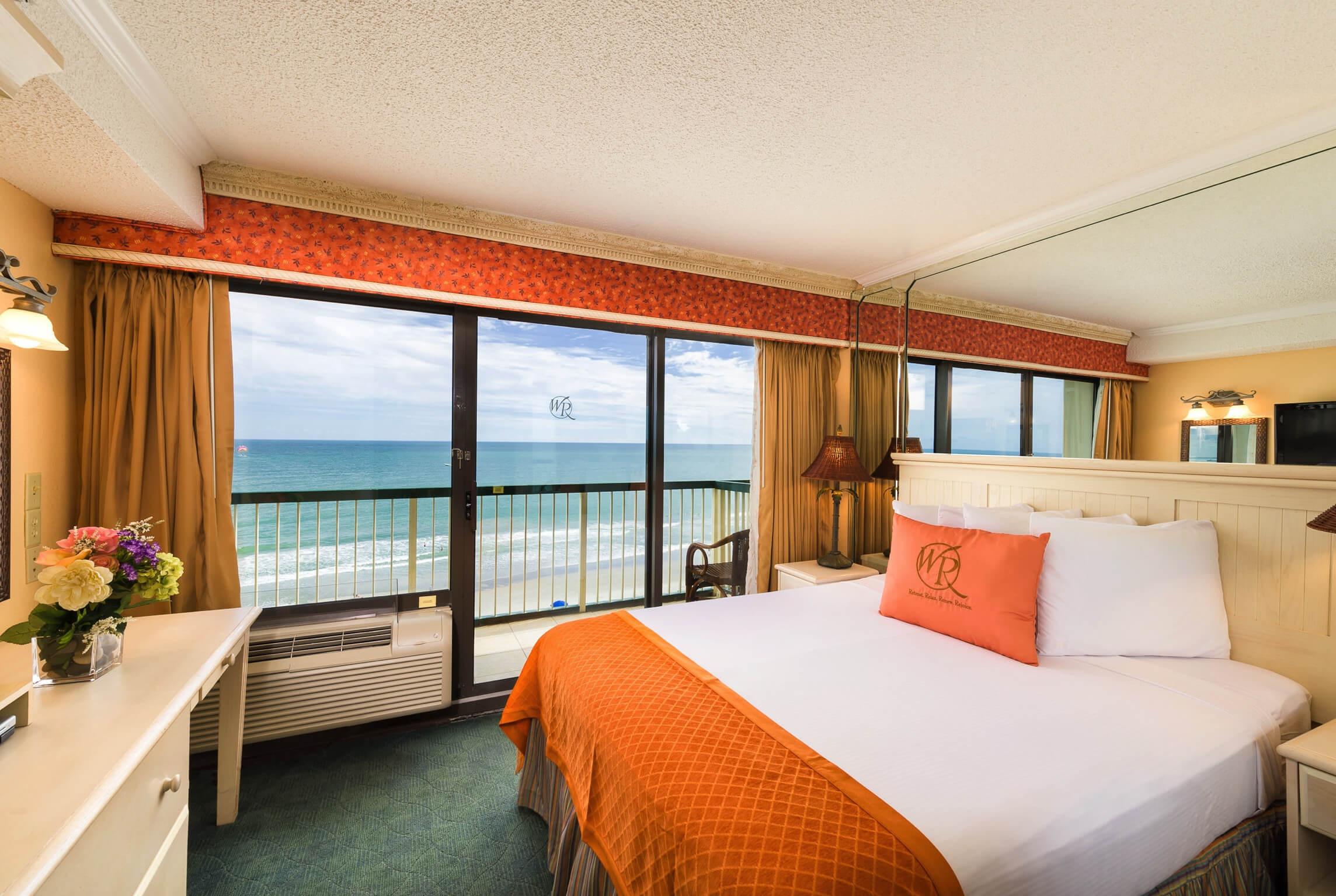 One Bedroom Ocean View Villa Westgate Myrtle Beach Oceanfront Resort Westgate Resorts And