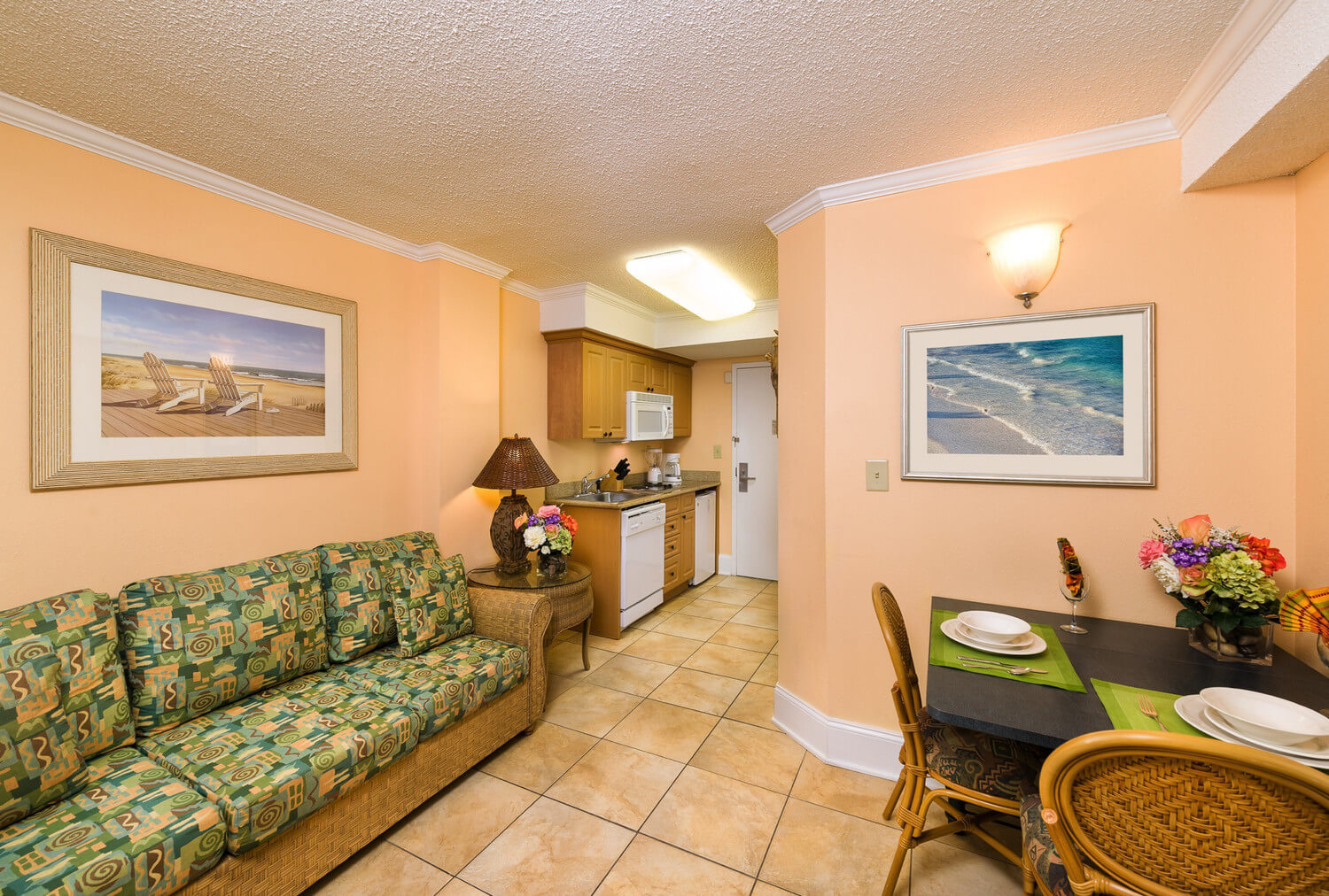 One Bedroom Oceanfront Villa. Myrtle Beach Oceanfront Hotels   Westgate Myrtle Beach Villas