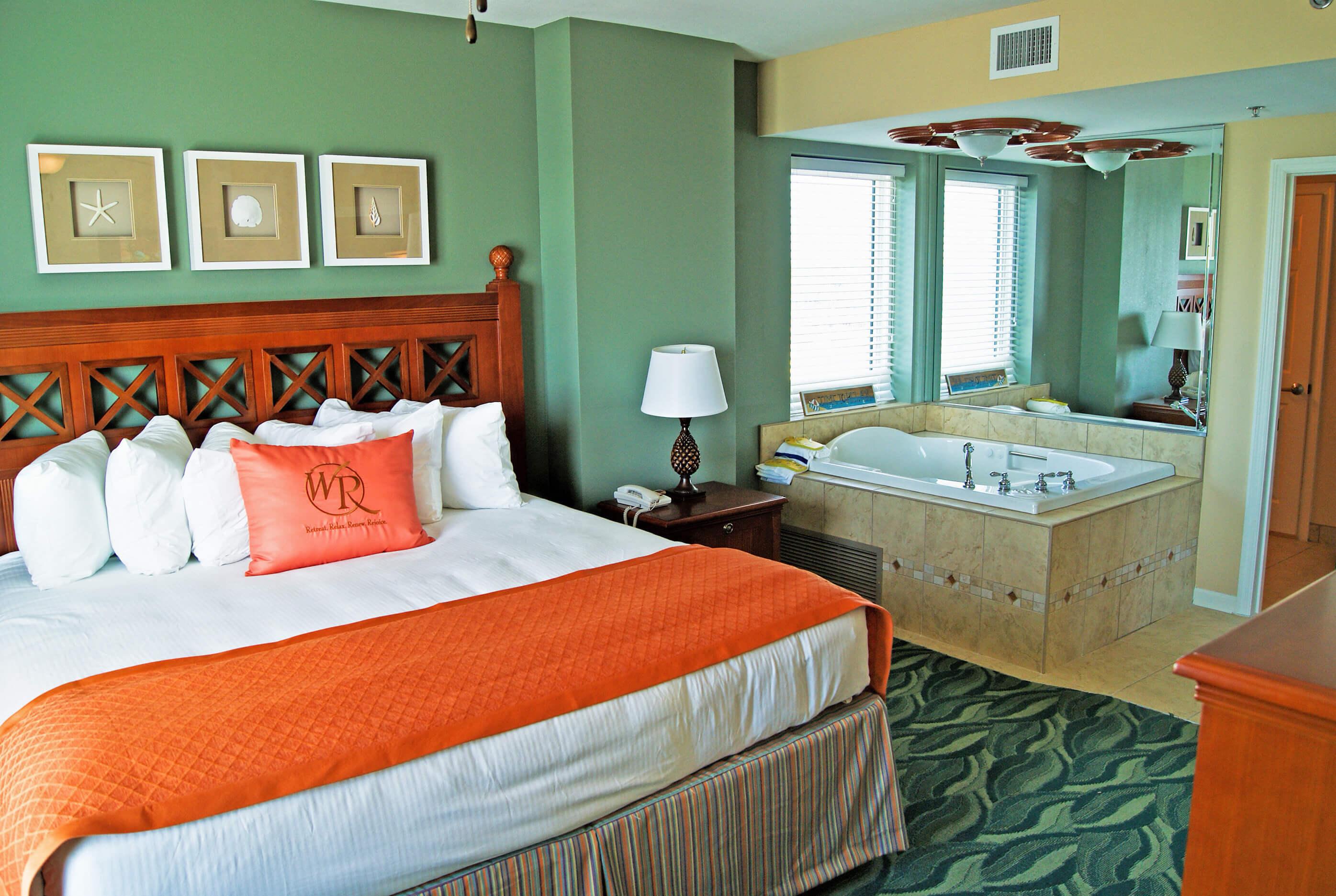 Two Bedroom Oceanfront Villa Westgate Myrtle Beach Oceanfront Resort Westgate Resorts Condos