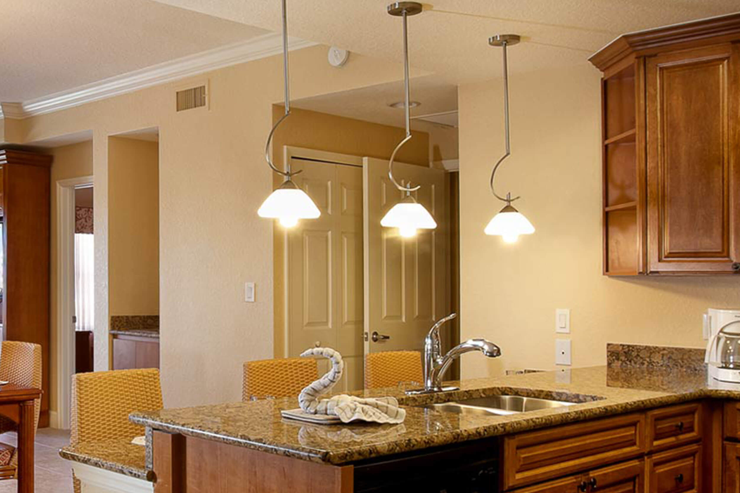 Full Kitchen in spacious villa | Westgate Town Center Resort & Spa