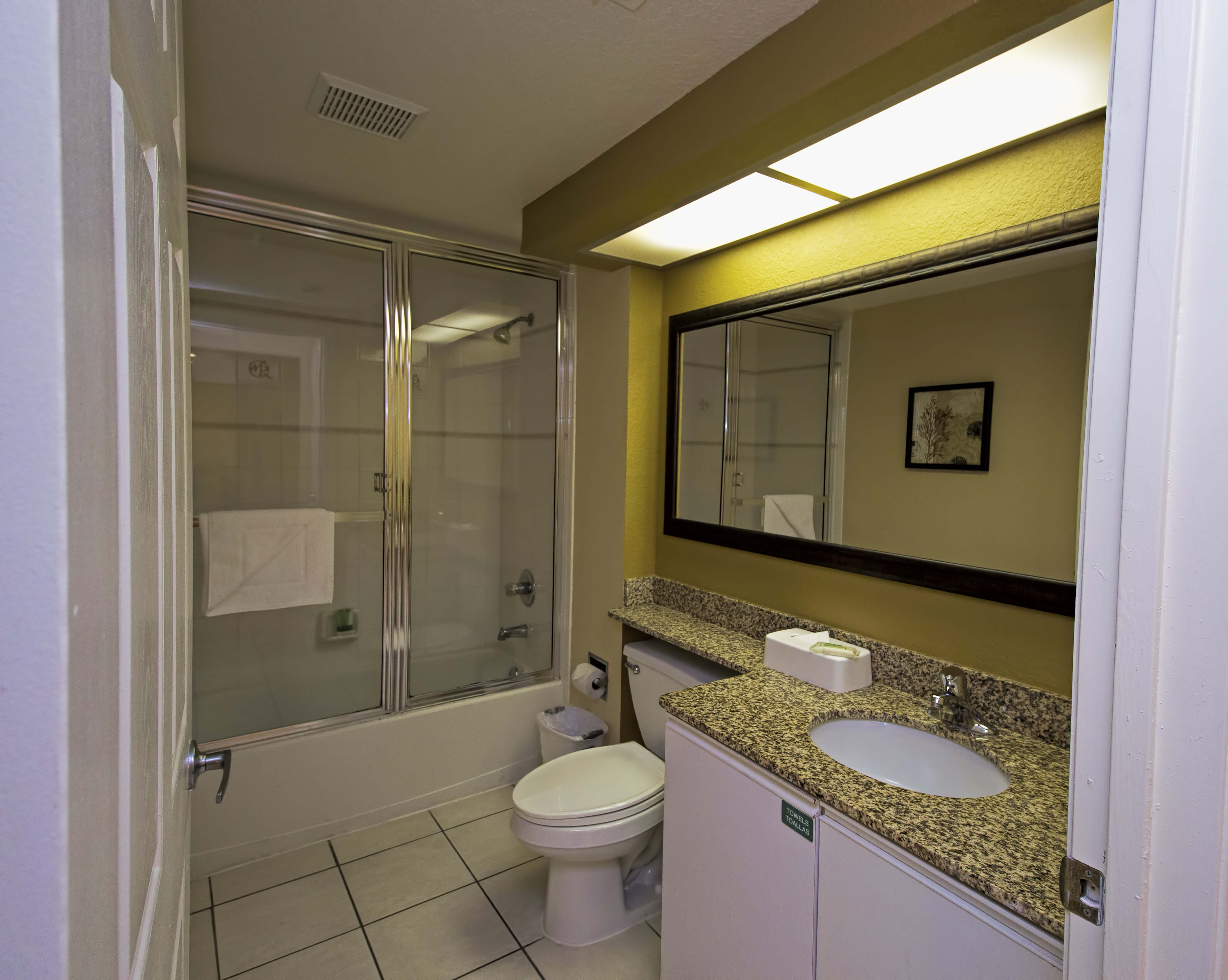 Bathroom | Two-Bedroom Deluxe Villa | Westgate Town Center Resort & Spa | Westgate Resorts