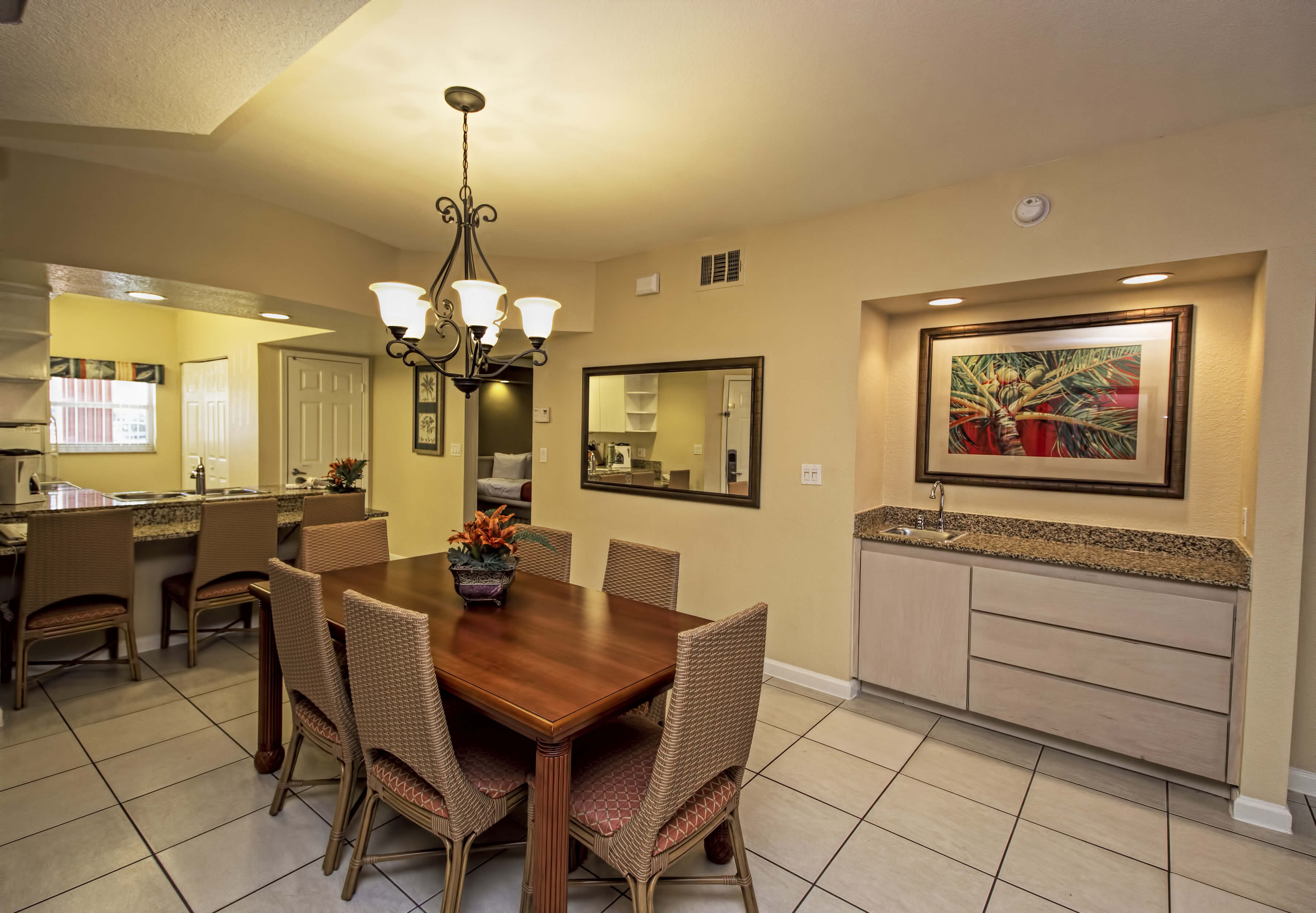 Dining Area in spacious villa | Westgate Town Center Resort & Spa | Westgate Resorts
