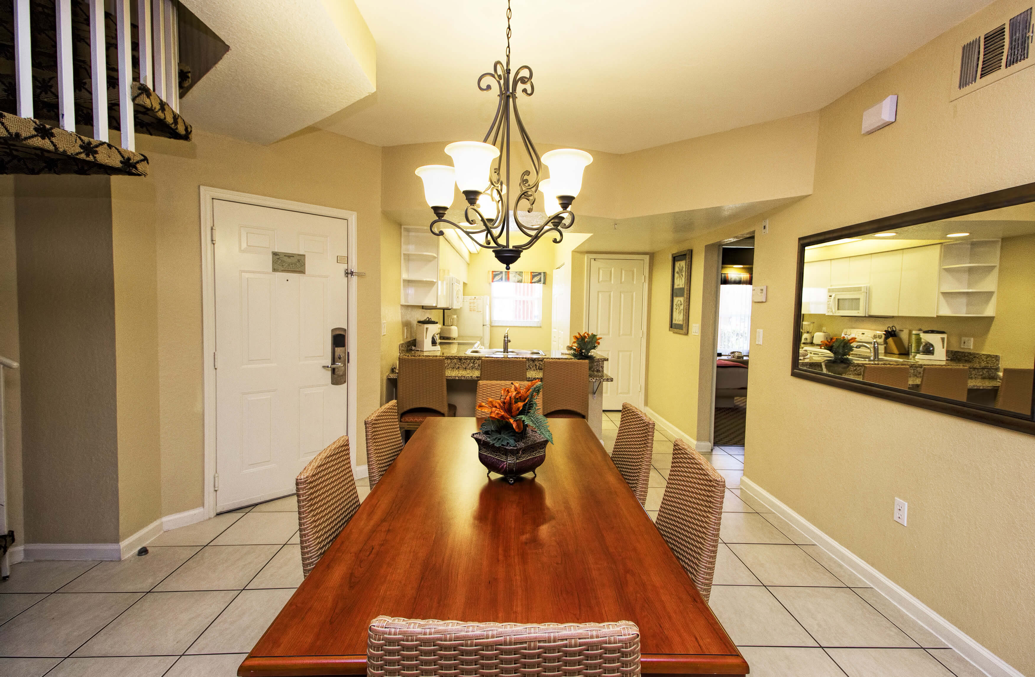 Dining Area in Two-Bedroom Deluxe Villa | Westgate Town Center Resort & Spa
