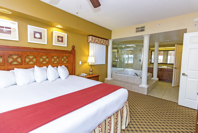 Bed in Four-Bedroom Villa in Orlando, FL | Westgate Lakes Resort & Spa | Westgate Resorts