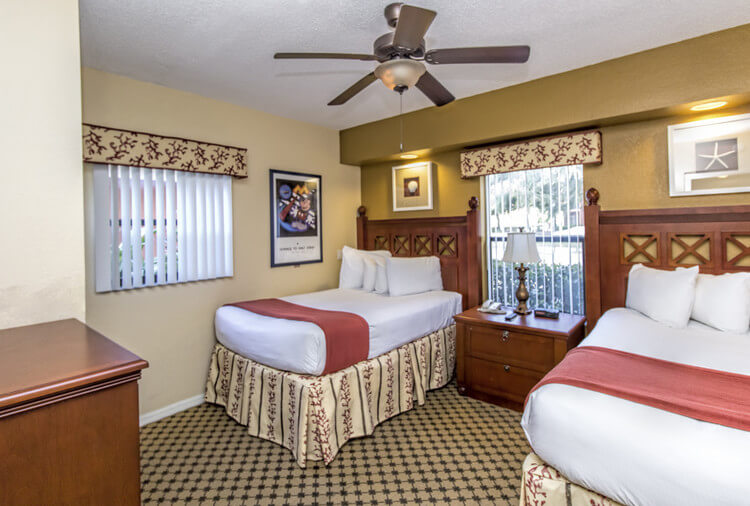 Two Beds in Four-Bedroom Villa in Orlando, FL | Westgate Lakes Resort & Spa | Westgate Resorts