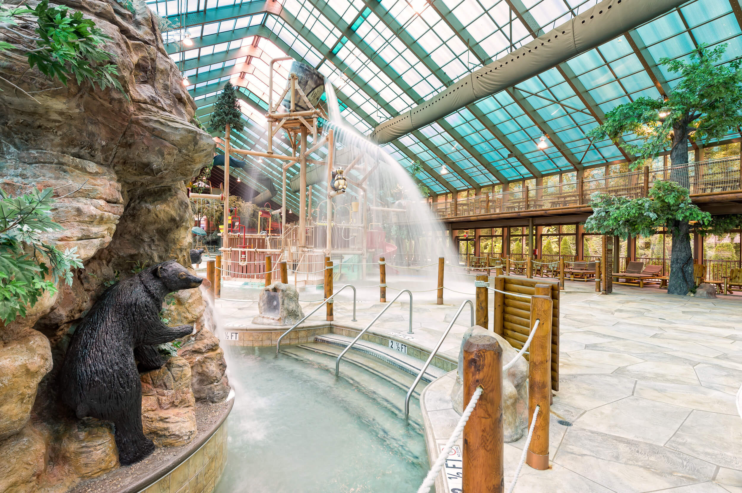 Wild Bear Falls water parks in TN | Westgate Smoky Mountain Resort & Spa | Westgate Indoor Water Park Resorts