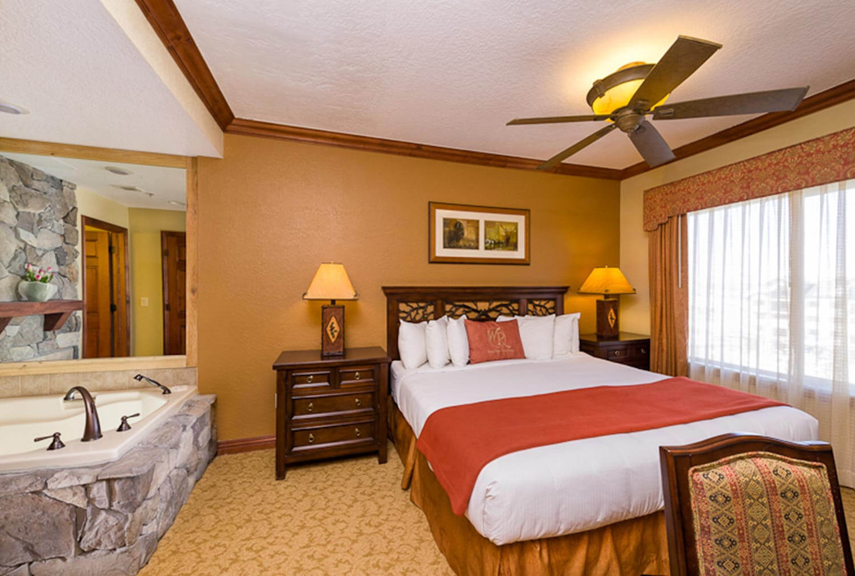 Bedroom in the Luxury Two-Bedroom Villa at our Park City Resort in Utah   Westgate Park City Resort & Spa   Westgate Resort