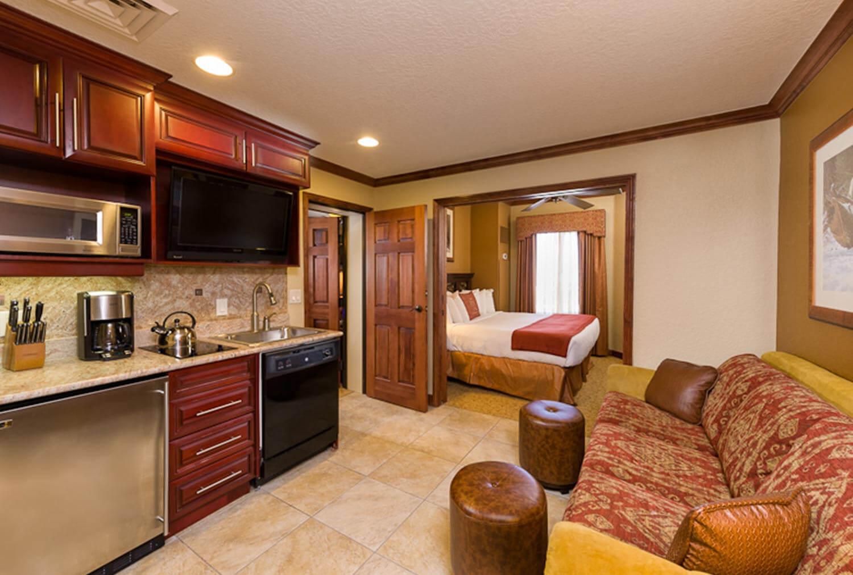 Kitchen in the Luxury Two-Bedroom Villa at our Park City Resort in Utah | Westgate Park City Resort & Spa | Westgate Resort