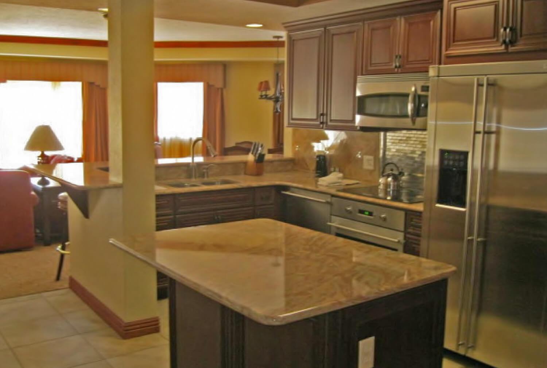 Luxury Three-Bedroom Villa Kitchen at our Park City Resort in Utah | Westgate Park City Resort & Spa | Westgate Resort