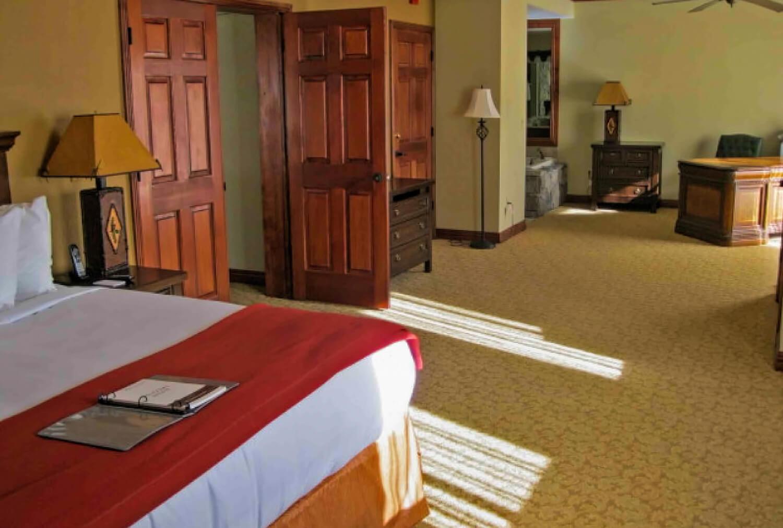 Luxury Three-Bedroom Villa Bedroom at our Park City Resort in Utah | Westgate Park City Resort & Spa | Westgate Resort