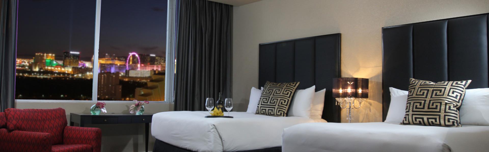 Las Vegas Hotel Rooms Interior   Westgate Las Vegas Resort & Casino   Westgate Resorts