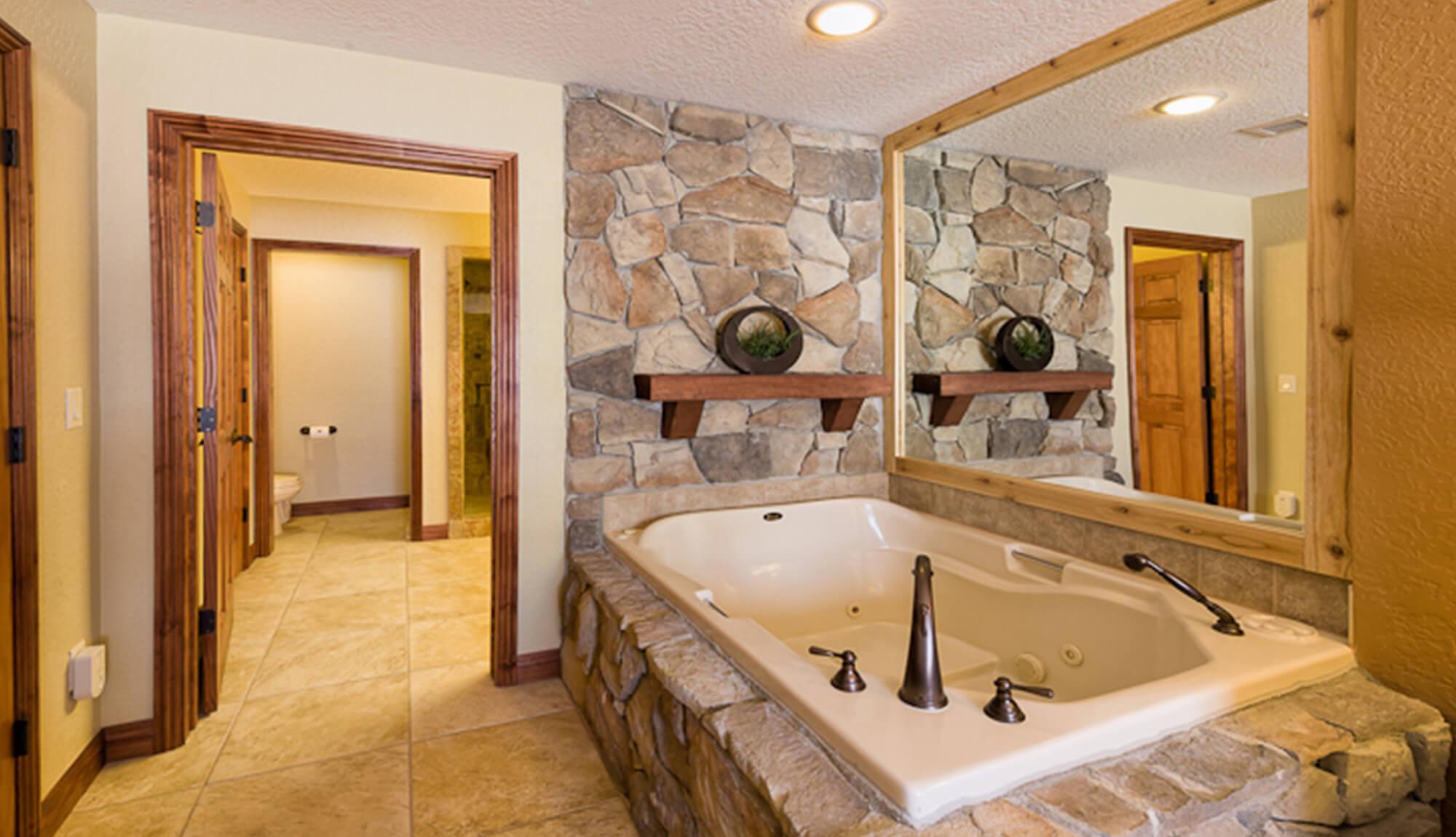 Jetted Tub in Luxury One-Bedroom Villa | Westgate Park City Resort & Spa | Westgate Resorts