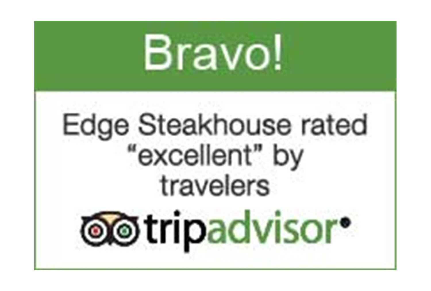 2015 Bravo Badge, TripAdvisor | Westgate Park City Resort & Spa | Westgate Resorts