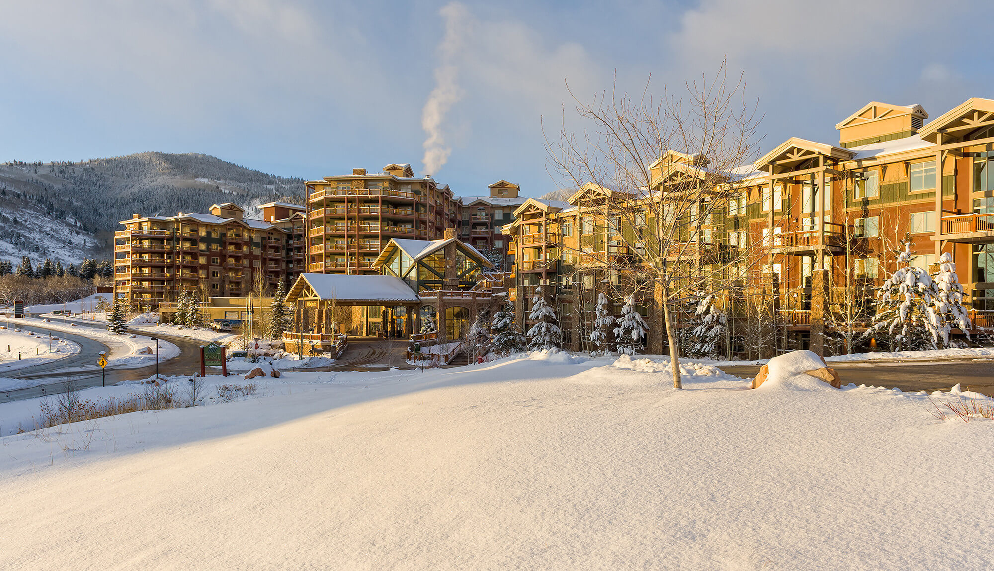 Wintry scene outside Park City resort | Westgate Park City Resort & Spa