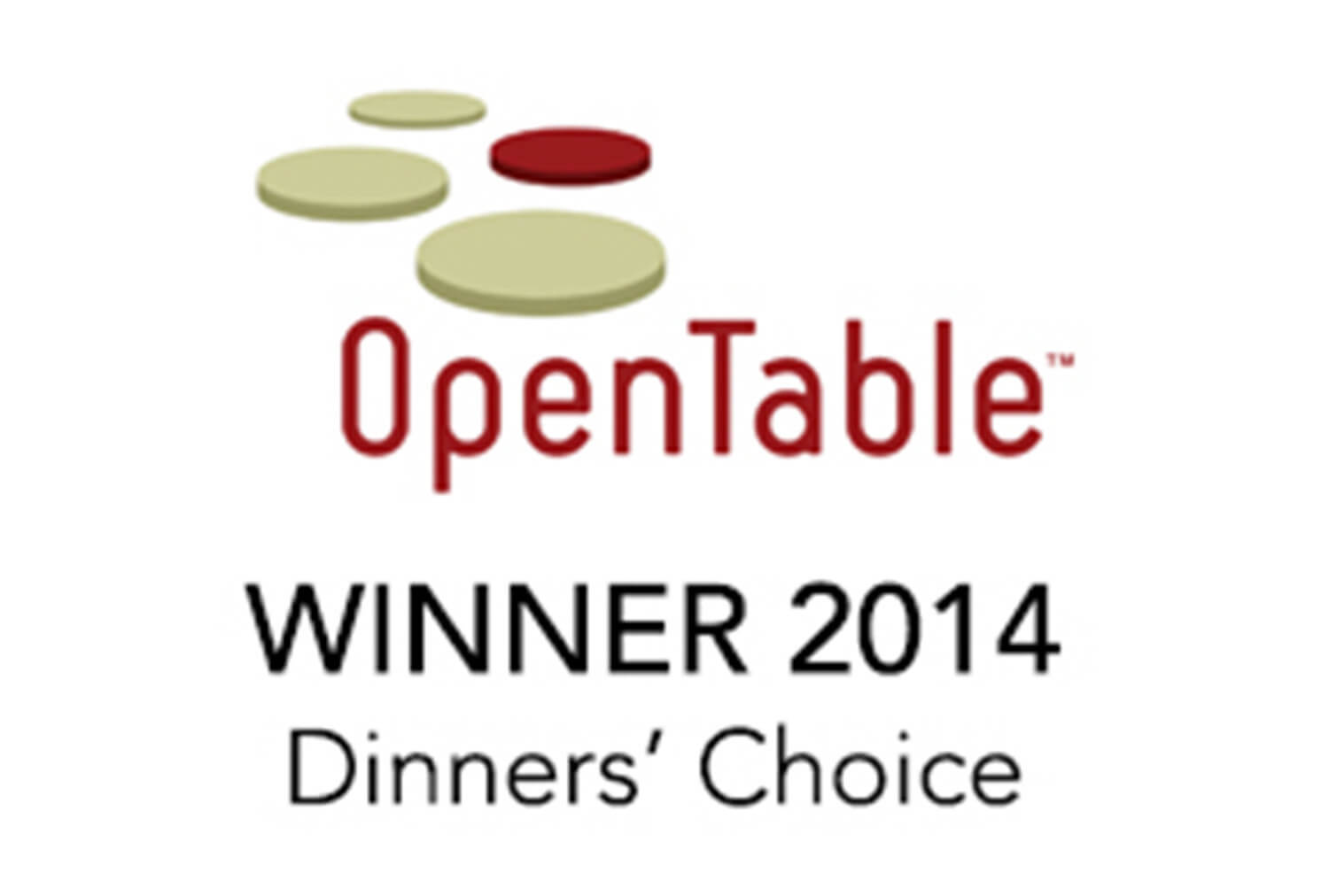 2014 Winner Diner's Choice, OpenTable | Westgate Park City Resort & Spa | Westgate Resorts