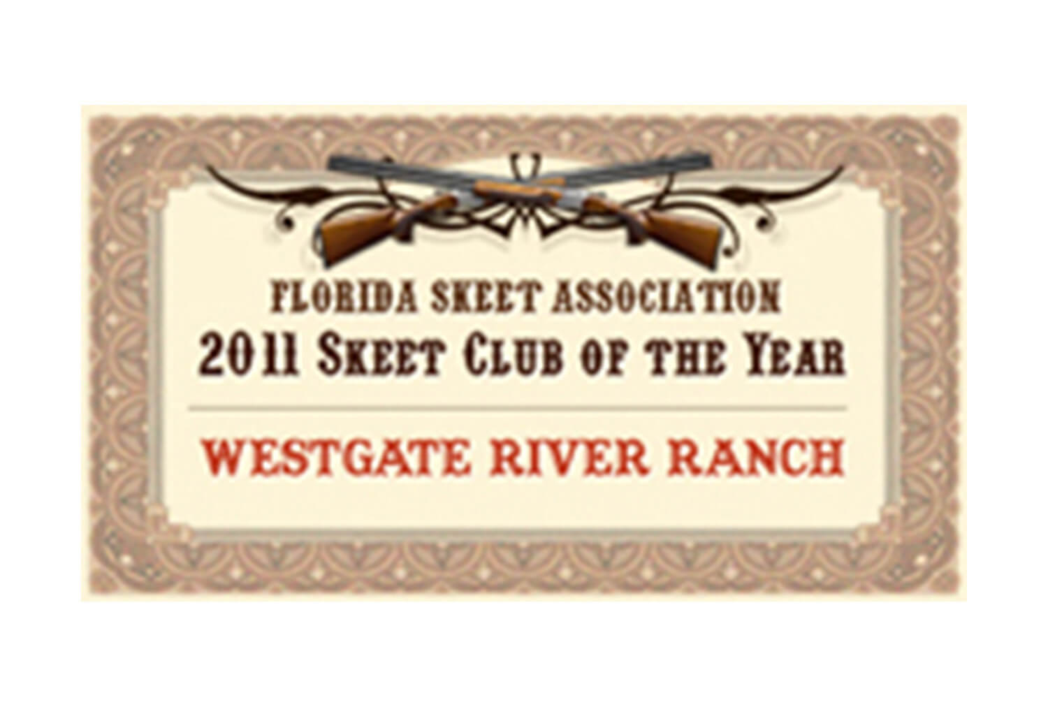 2011 Skeet Club of the Year, Florida Chapter of the National Skeet Shooting Association | Westgate Resorts
